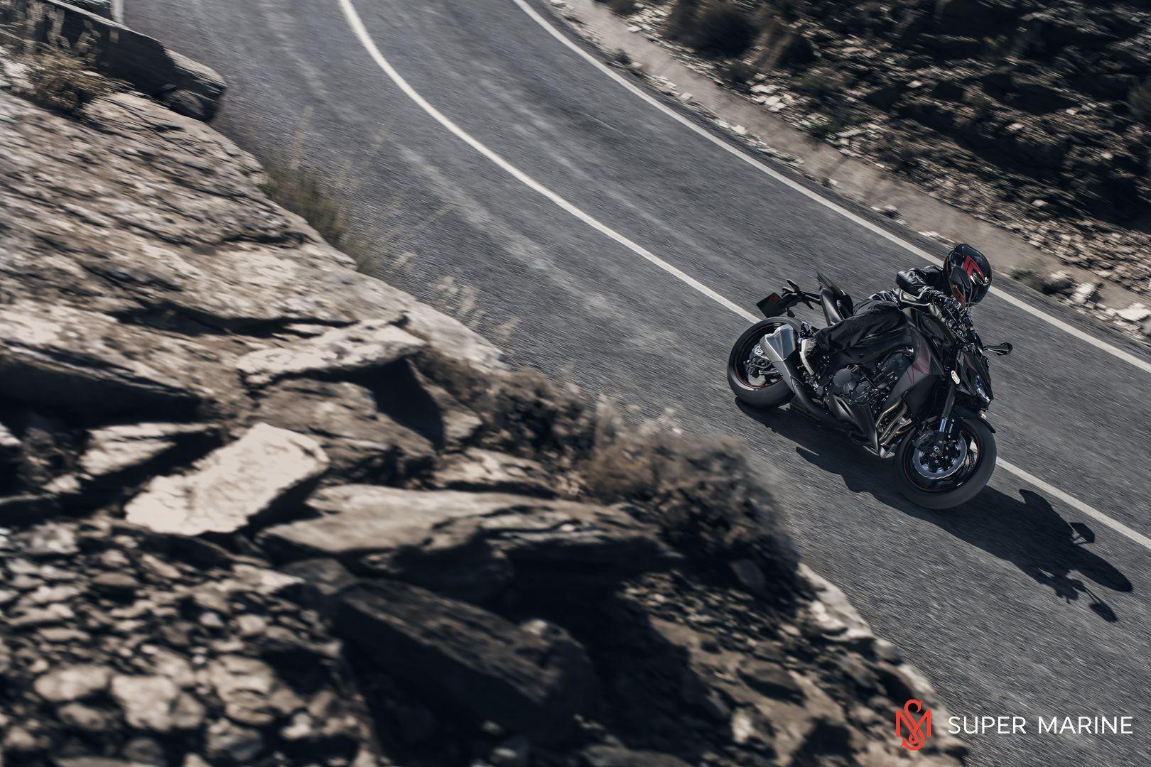 Мотоцикл Kawasaki Z1000 Черный 2020 - 10