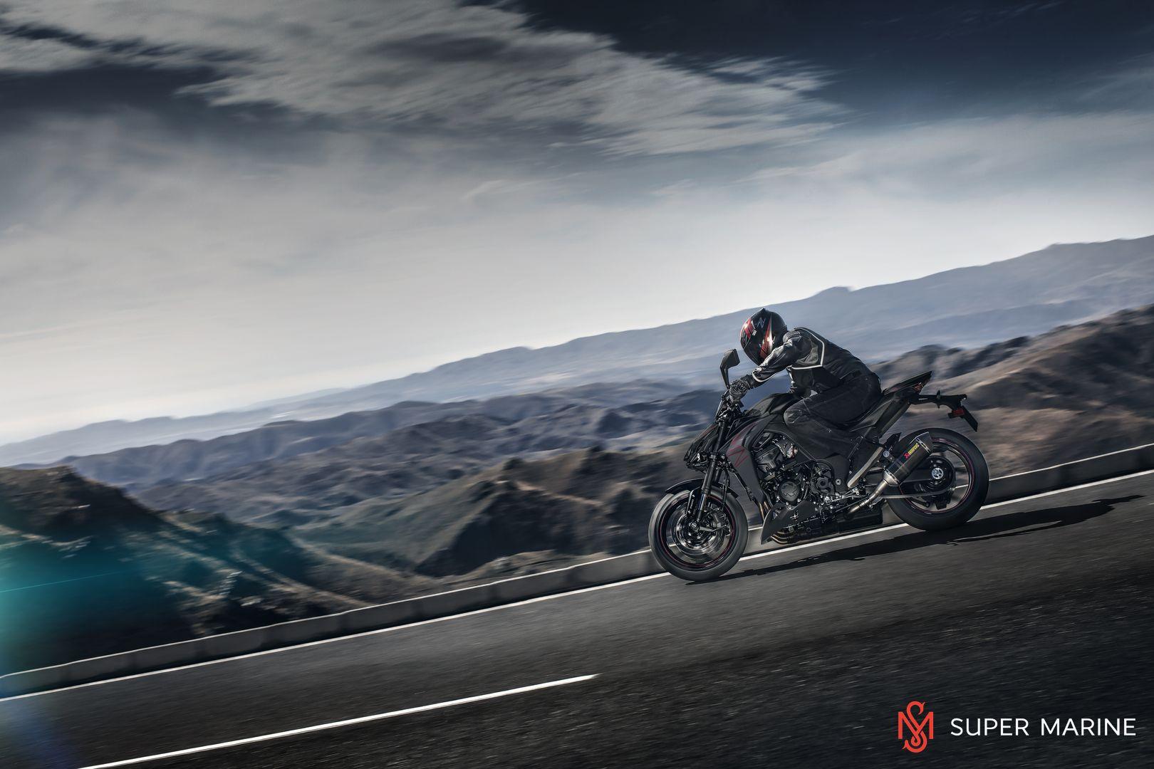 Мотоцикл Kawasaki Z1000 Черный 2020 - 11