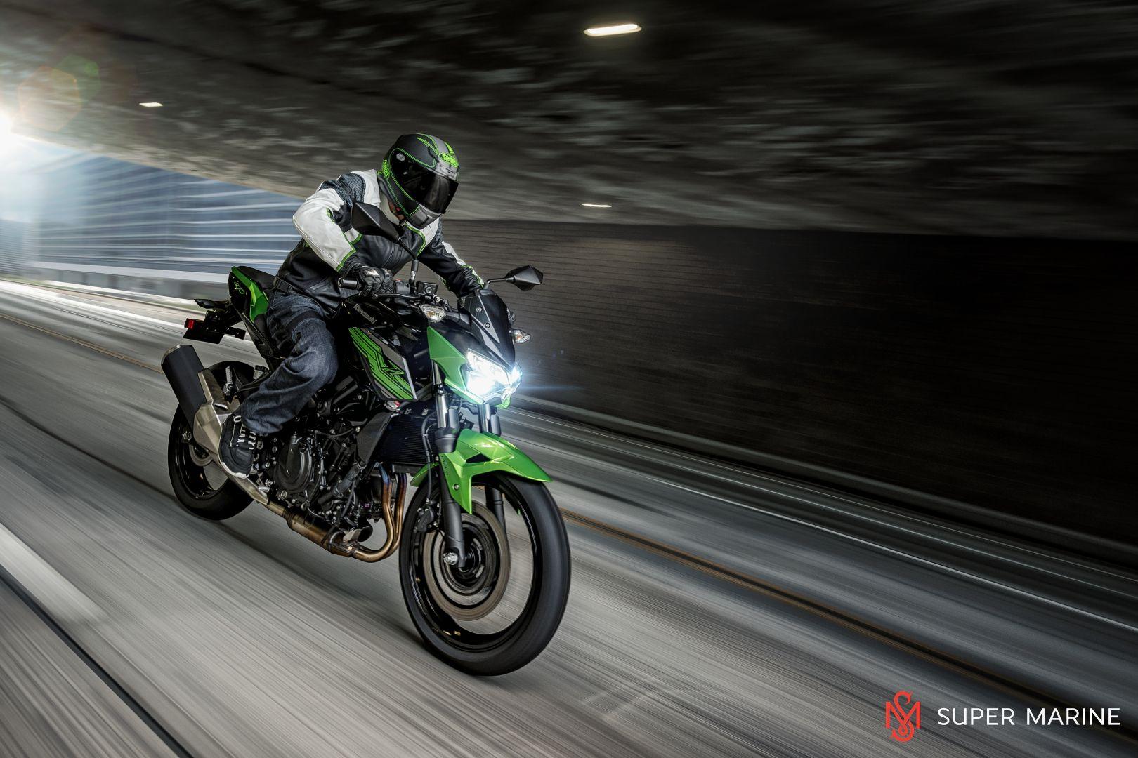 Мотоцикл Kawasaki Z400 Серый 2020 - 9