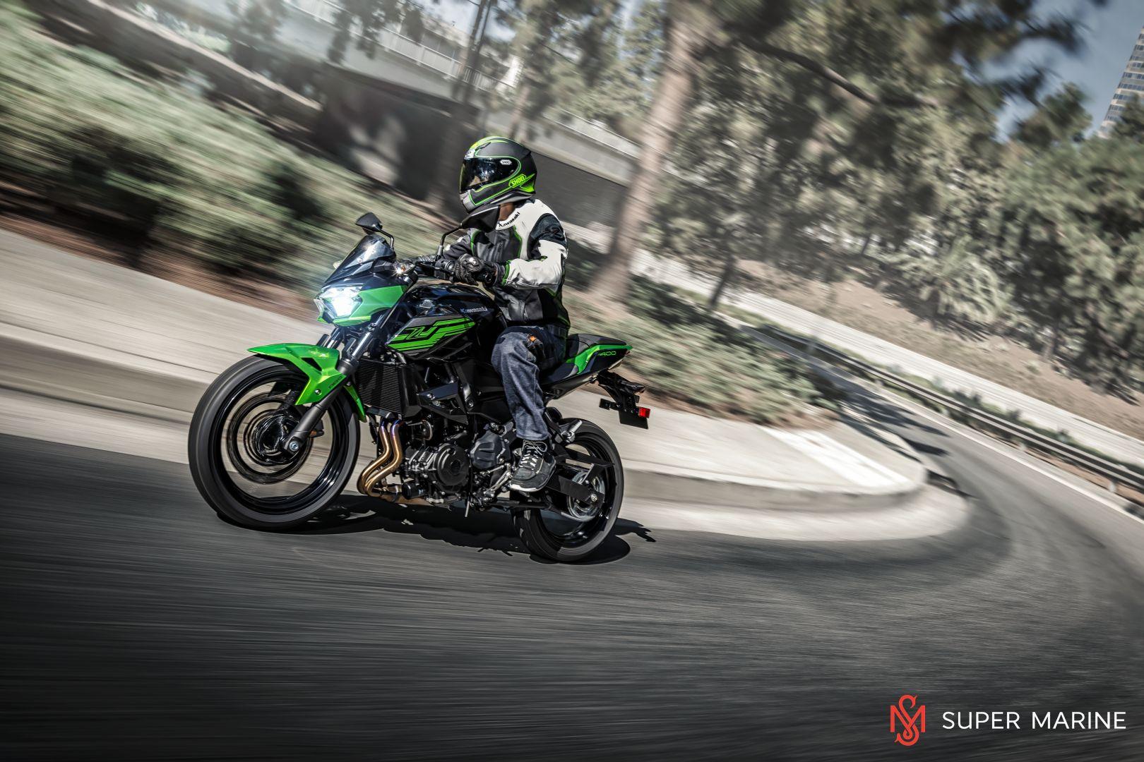 Мотоцикл Kawasaki Z400 Серый 2020 - 10