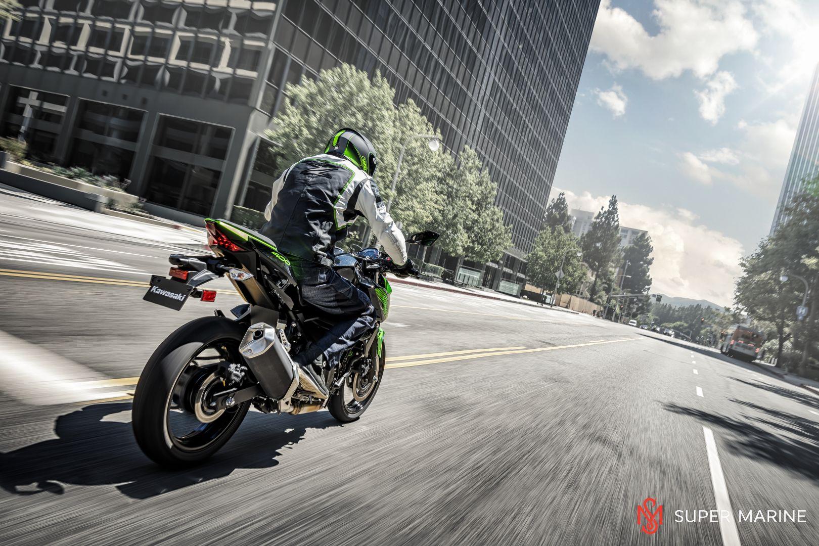 Мотоцикл Kawasaki Z400 Серый 2020 - 11