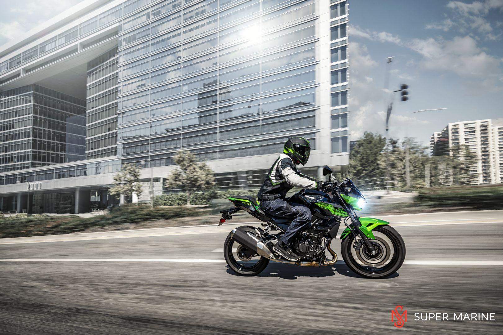Мотоцикл Kawasaki Z400 Серый 2020 - 12