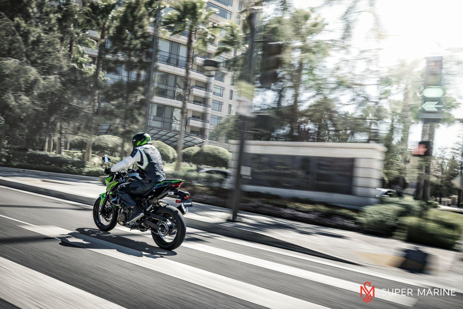 Мотоцикл Kawasaki Z400 Серый 2020 - 13