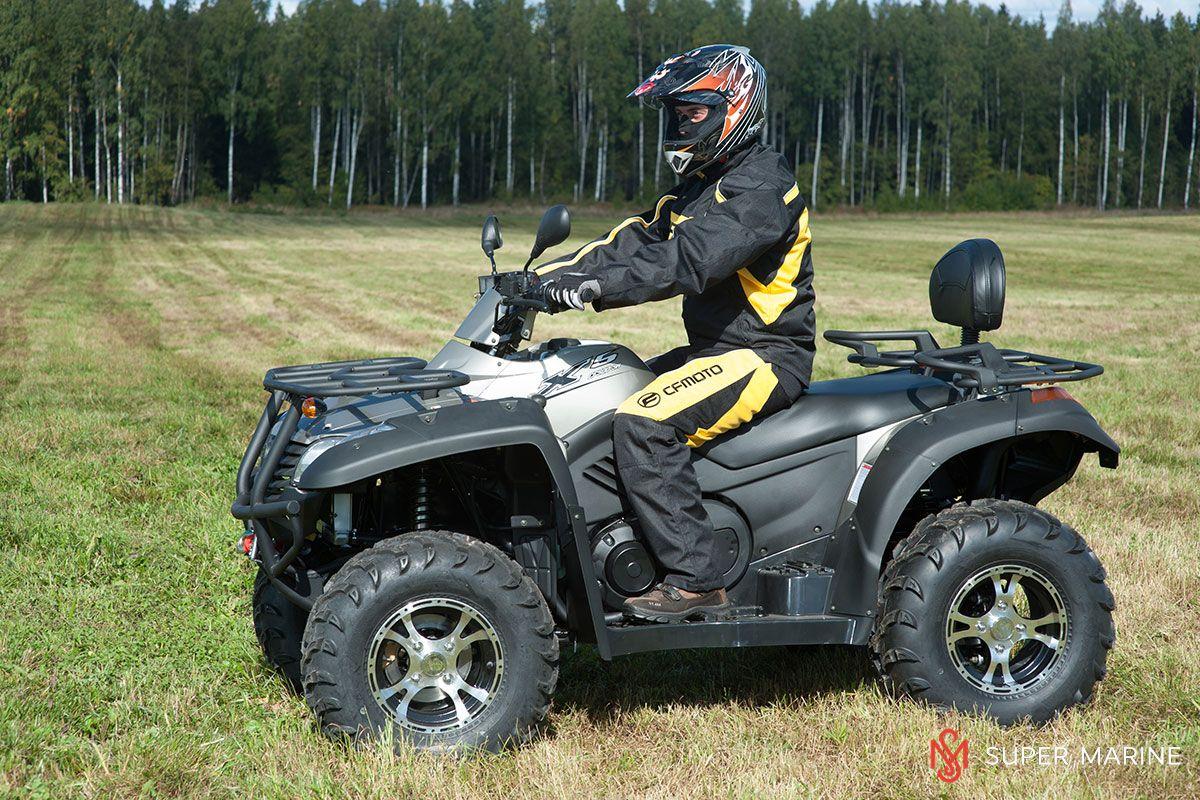 Квадроцикл CFMOTO X5 Classic - 17