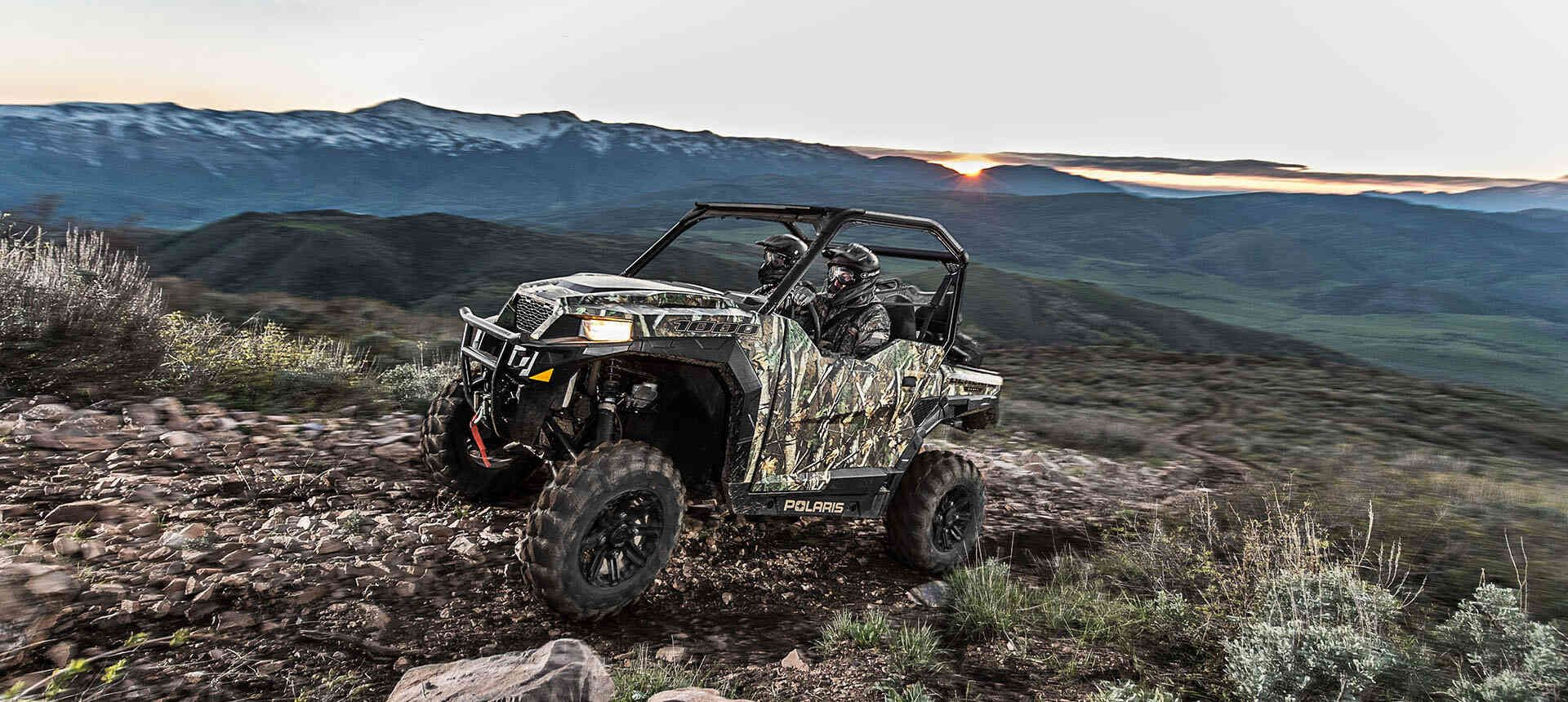 Мотовездеход Polaris GENERAL 1000 EPS Premium 2019 - 14