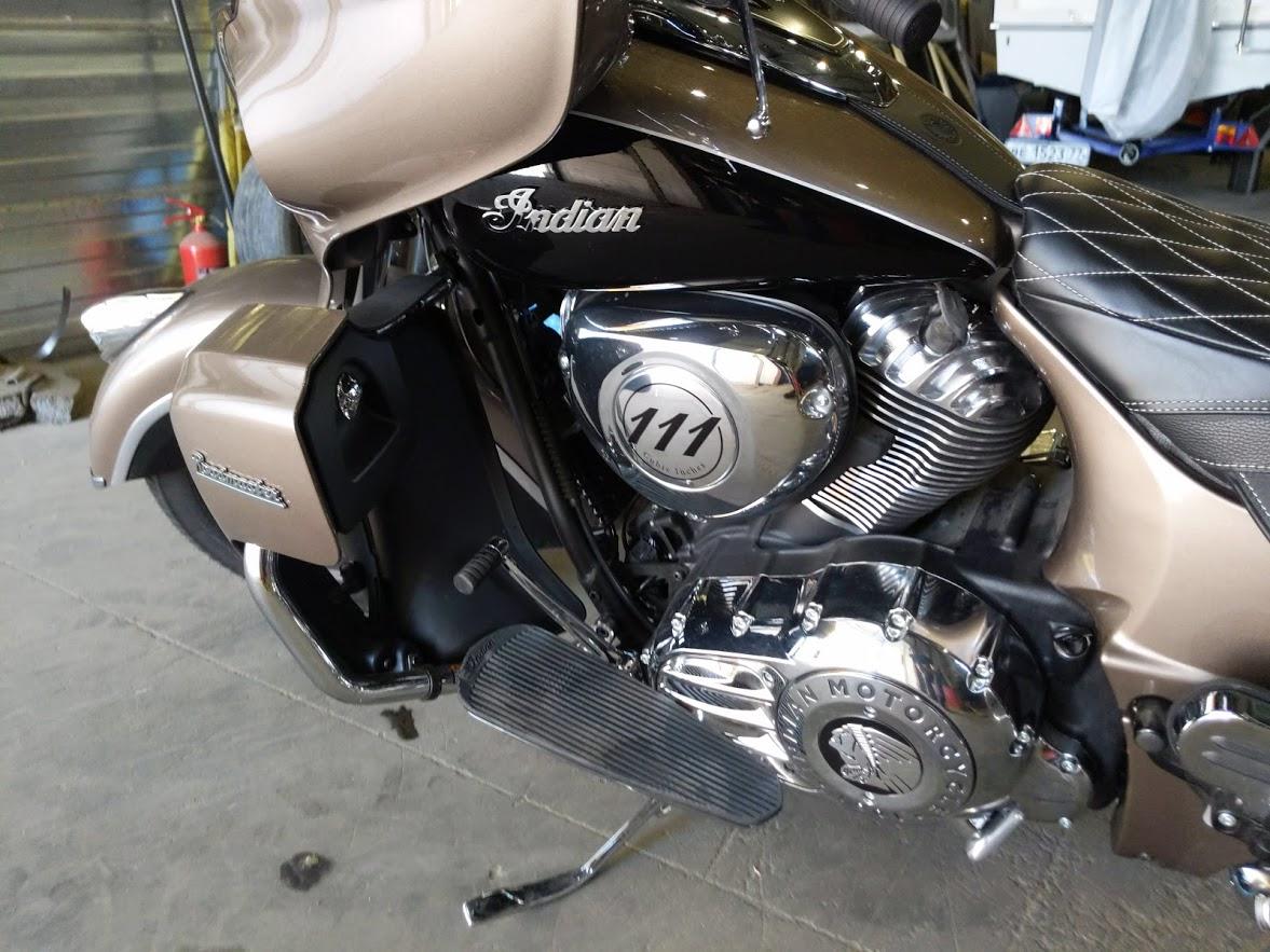 Мотоцикл Indian Roadmaster Polished Bronze / Thunder Black 2019 с пробегом 2100км - 25