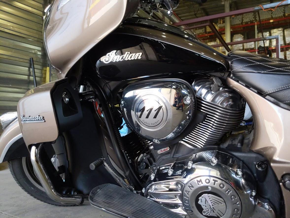 Мотоцикл Indian Roadmaster Polished Bronze / Thunder Black 2019 с пробегом 2100км - 26