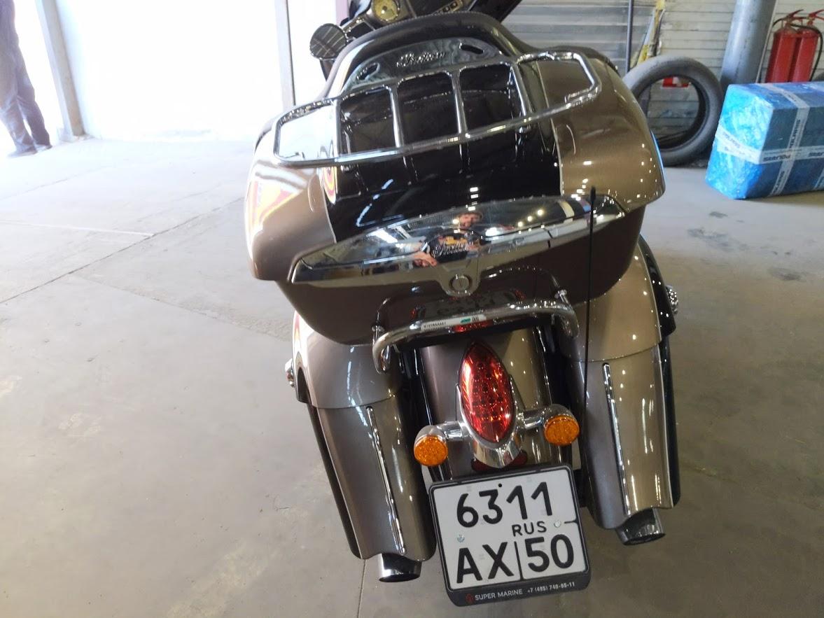 Мотоцикл Indian Roadmaster Polished Bronze / Thunder Black 2019 с пробегом 2100км - 27