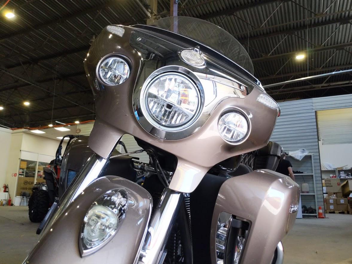 Мотоцикл Indian Roadmaster Polished Bronze / Thunder Black 2019 с пробегом 2100км - 29