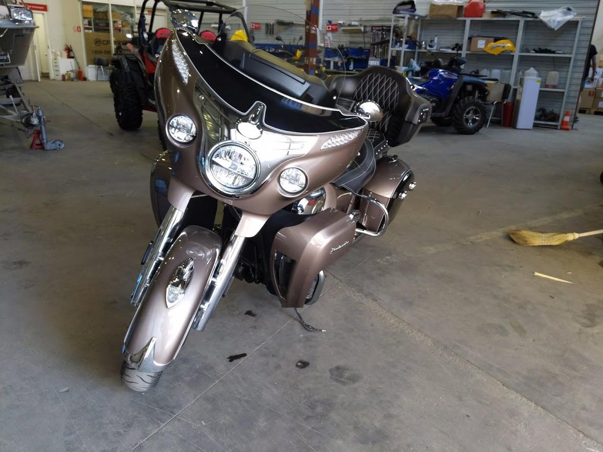 Мотоцикл Indian Roadmaster Polished Bronze / Thunder Black 2019 с пробегом 2100км - 30