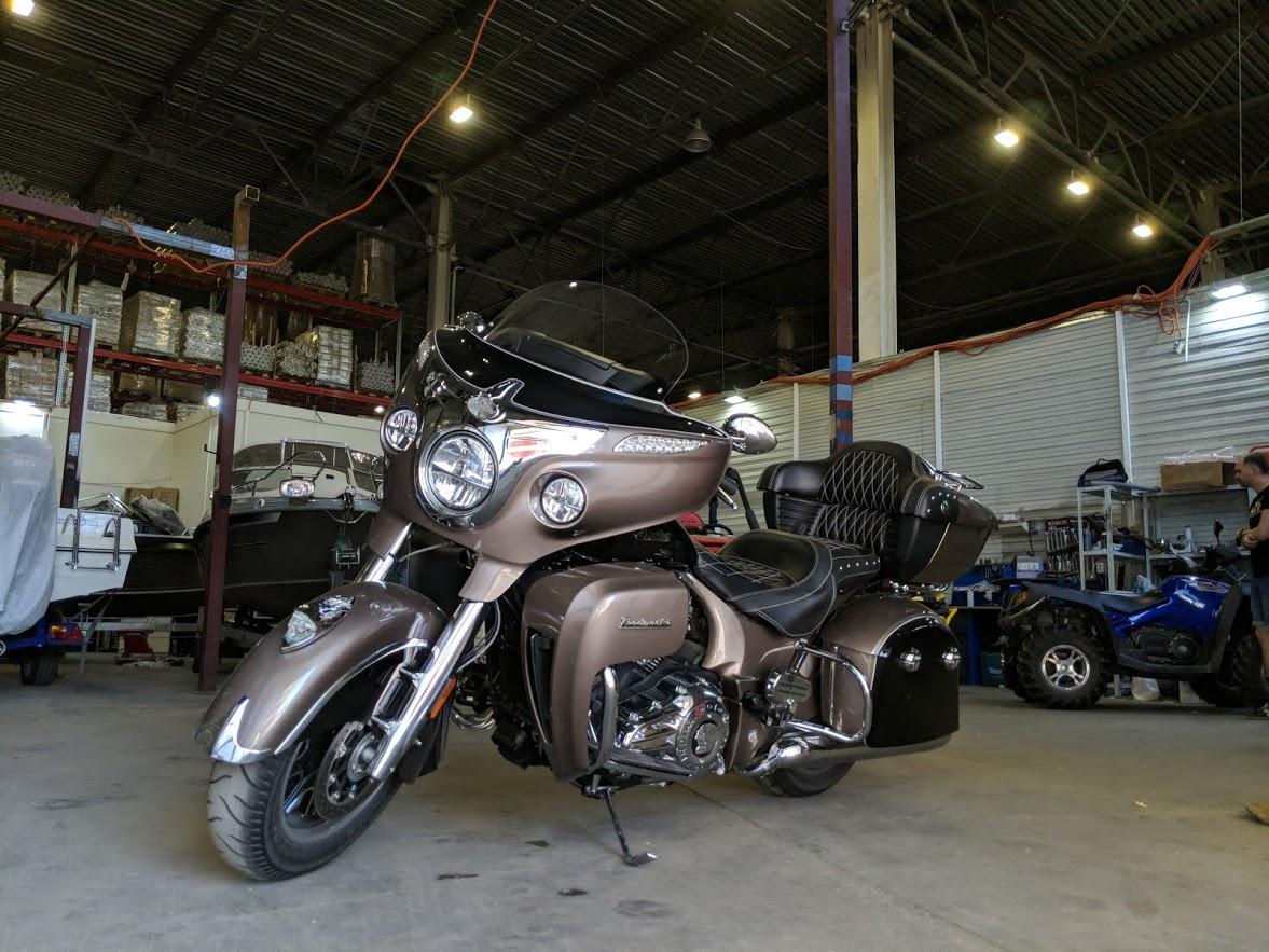 Мотоцикл Indian Roadmaster Polished Bronze / Thunder Black 2019 с пробегом 2100км - 16