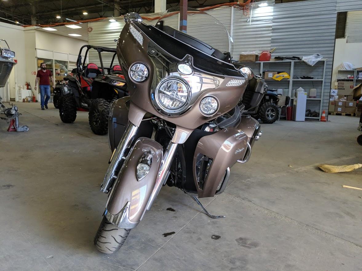 Мотоцикл Indian Roadmaster Polished Bronze / Thunder Black 2019 с пробегом 2100км - 17