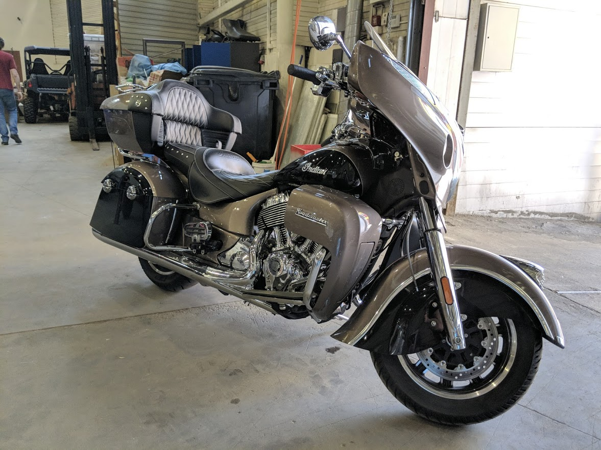 Мотоцикл Indian Roadmaster Polished Bronze / Thunder Black 2019 с пробегом 2100км - 18