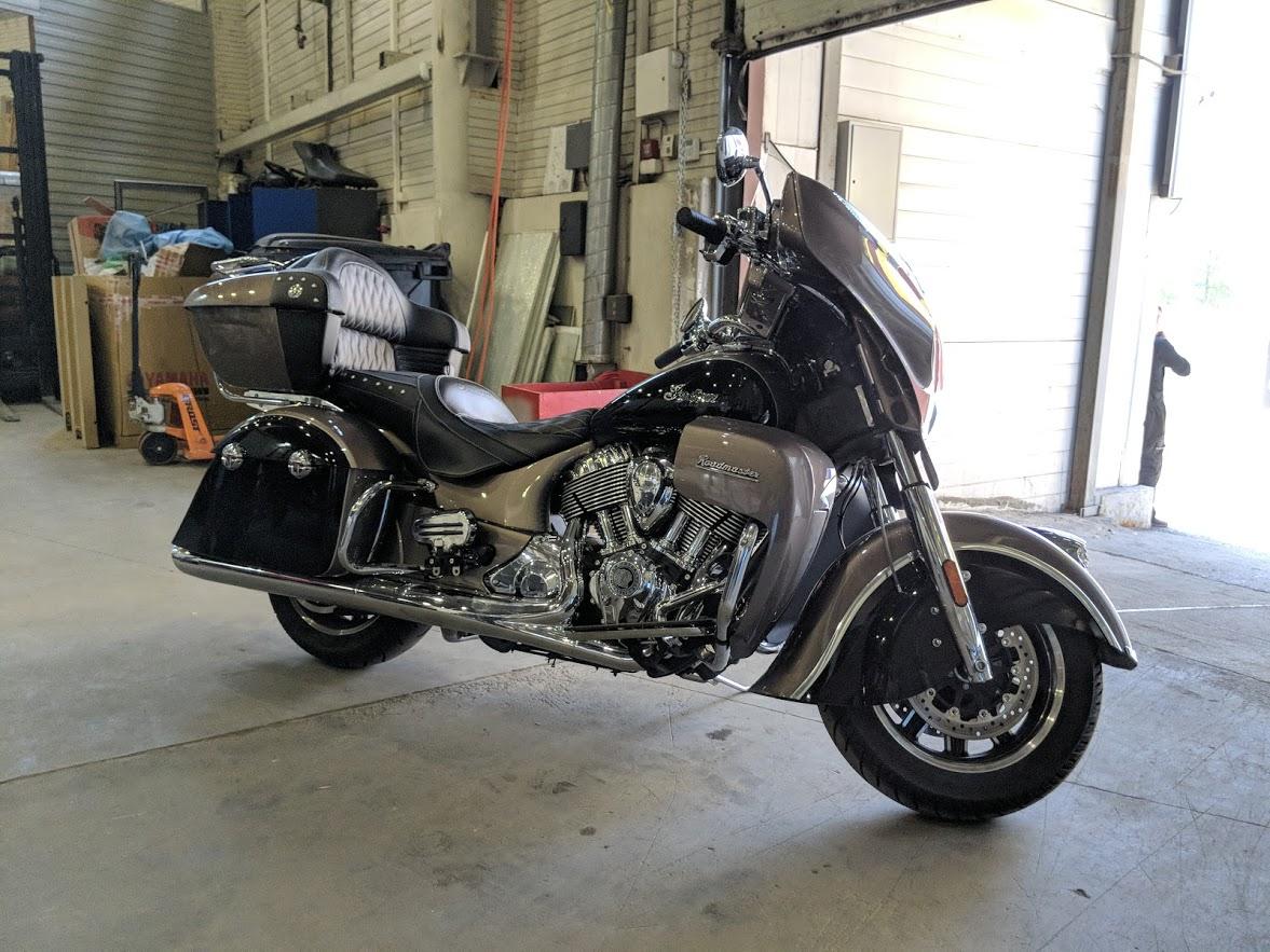 Мотоцикл Indian Roadmaster Polished Bronze / Thunder Black 2019 с пробегом 2100км - 19