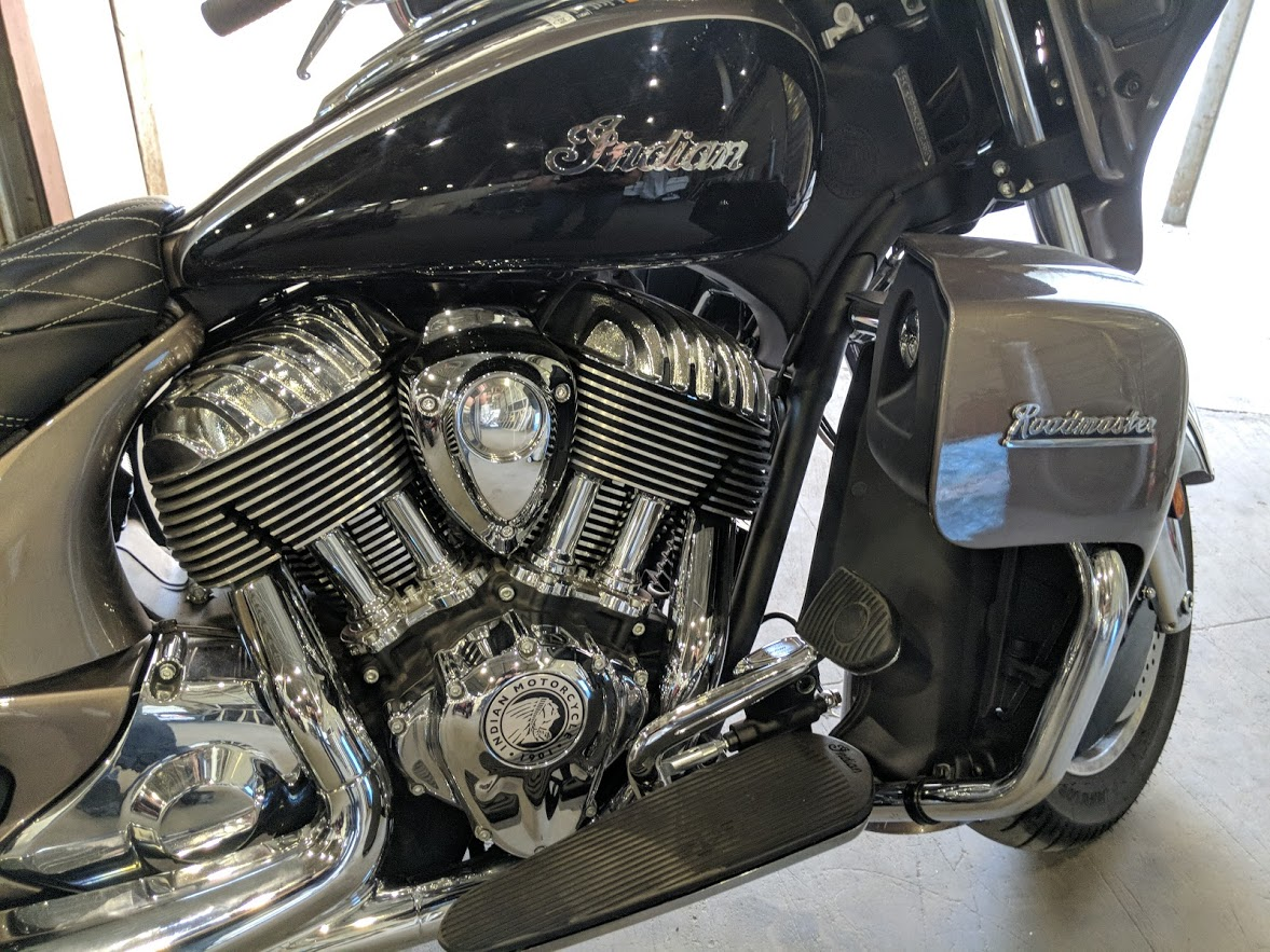 Мотоцикл Indian Roadmaster Polished Bronze / Thunder Black 2019 с пробегом 2100км - 20