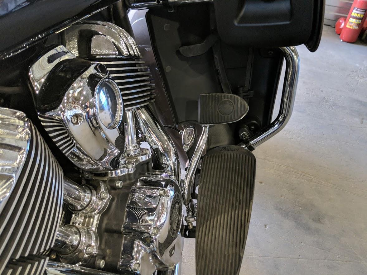 Мотоцикл Indian Roadmaster Polished Bronze / Thunder Black 2019 с пробегом 2100км - 22