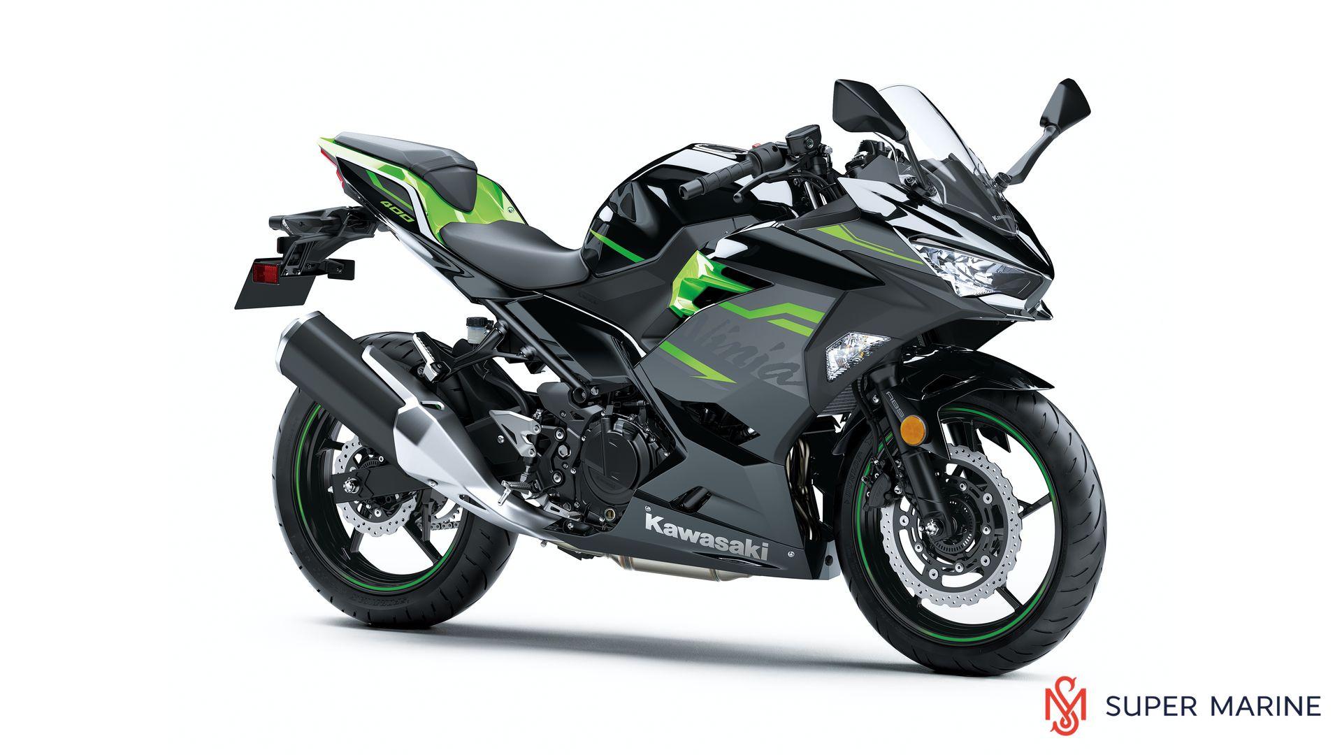 Мотоцикл Kawasaki Ninja 400 Черный 2020 - 1