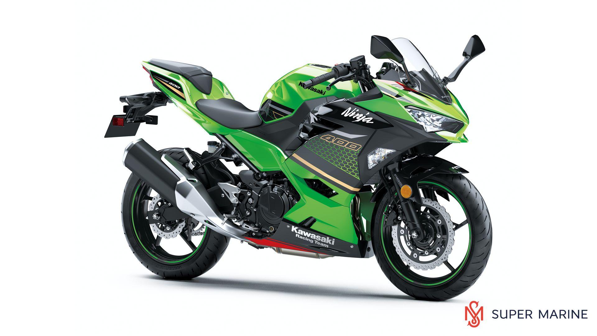 Мотоцикл Kawasaki Ninja 400 Зеленый 2020 - 1