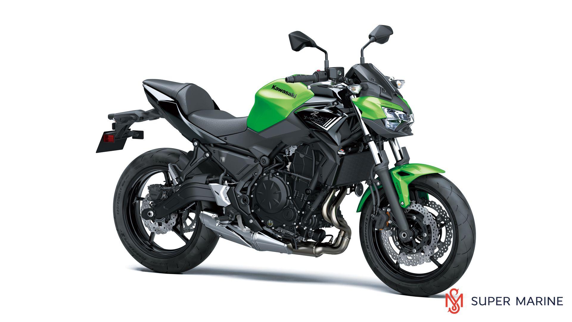 Мотоцикл Kawasaki Z650 ABS Зеленый 2020 - 1