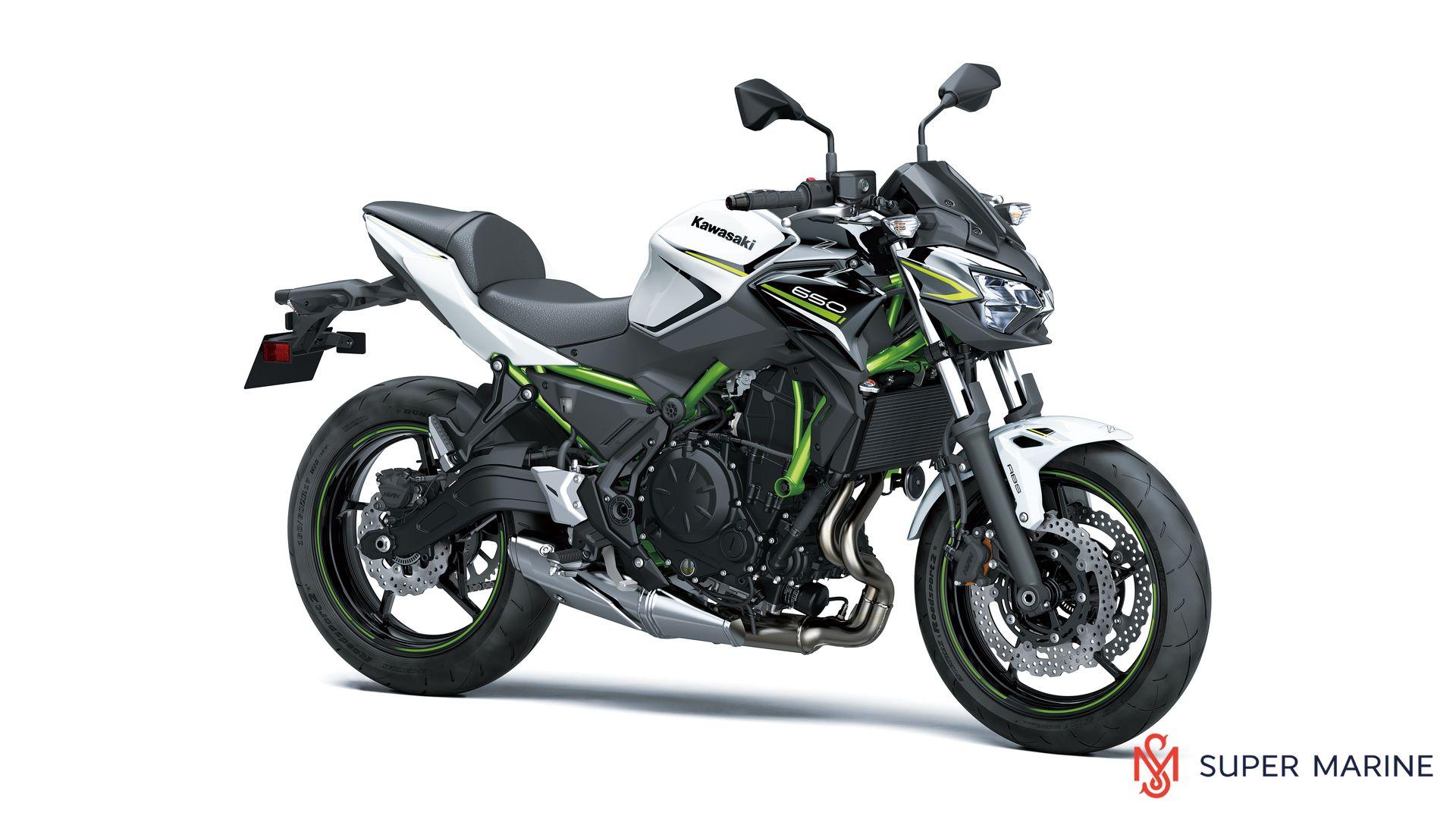 Мотоцикл Kawasaki Z650 ABS Белый 2020 - 1