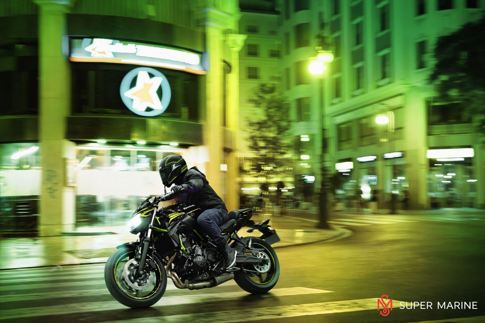 Мотоцикл Kawasaki Z650 ABS Белый 2020 - 7