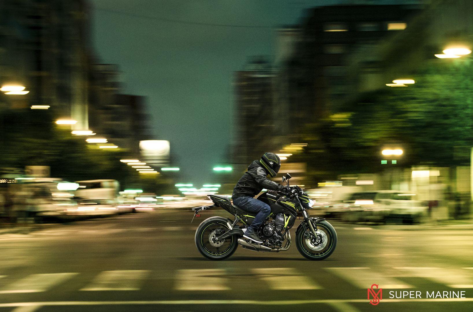 Мотоцикл Kawasaki Z650 ABS Белый 2020 - 12