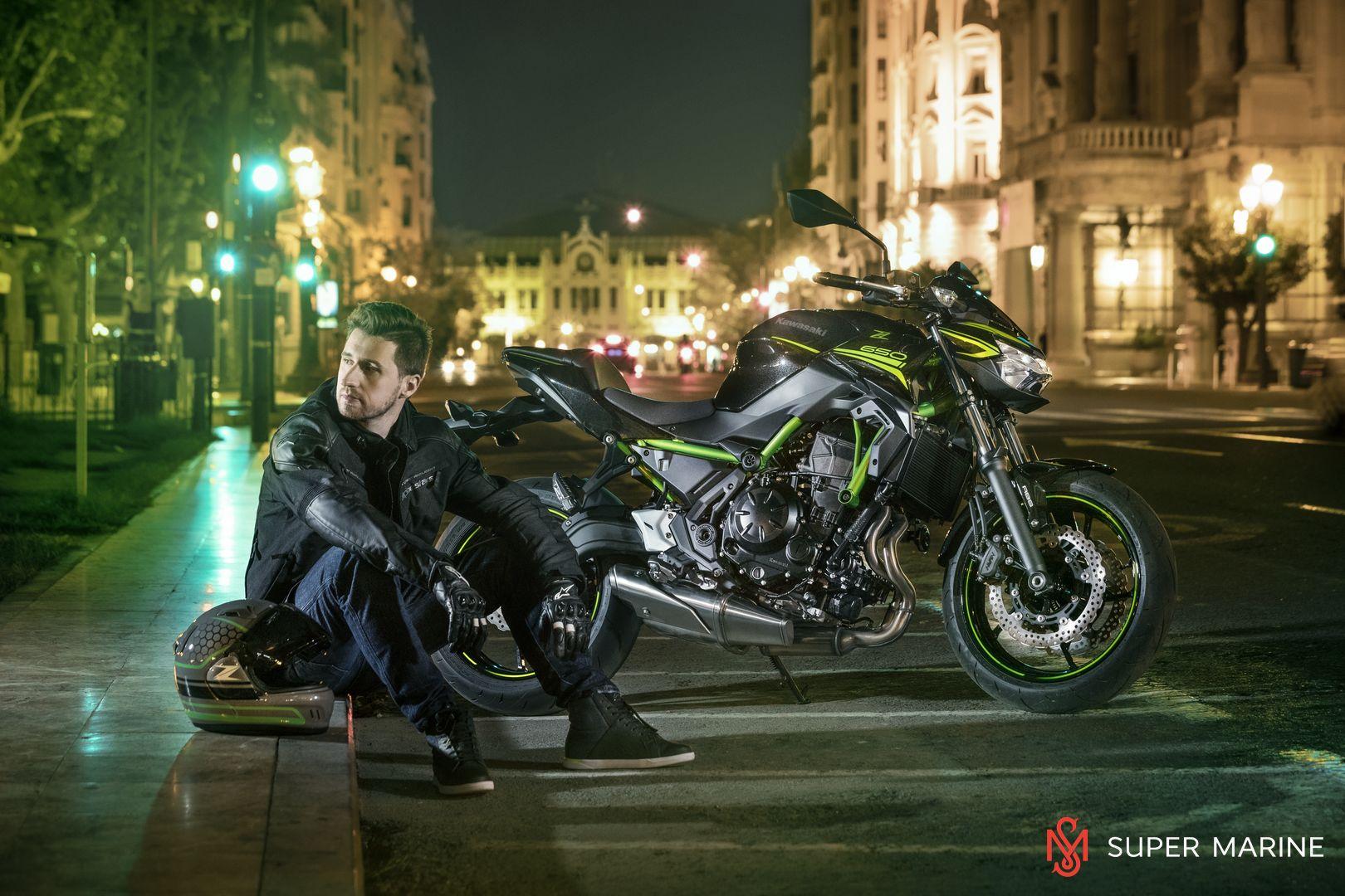Мотоцикл Kawasaki Z650 ABS Белый 2020 - 8