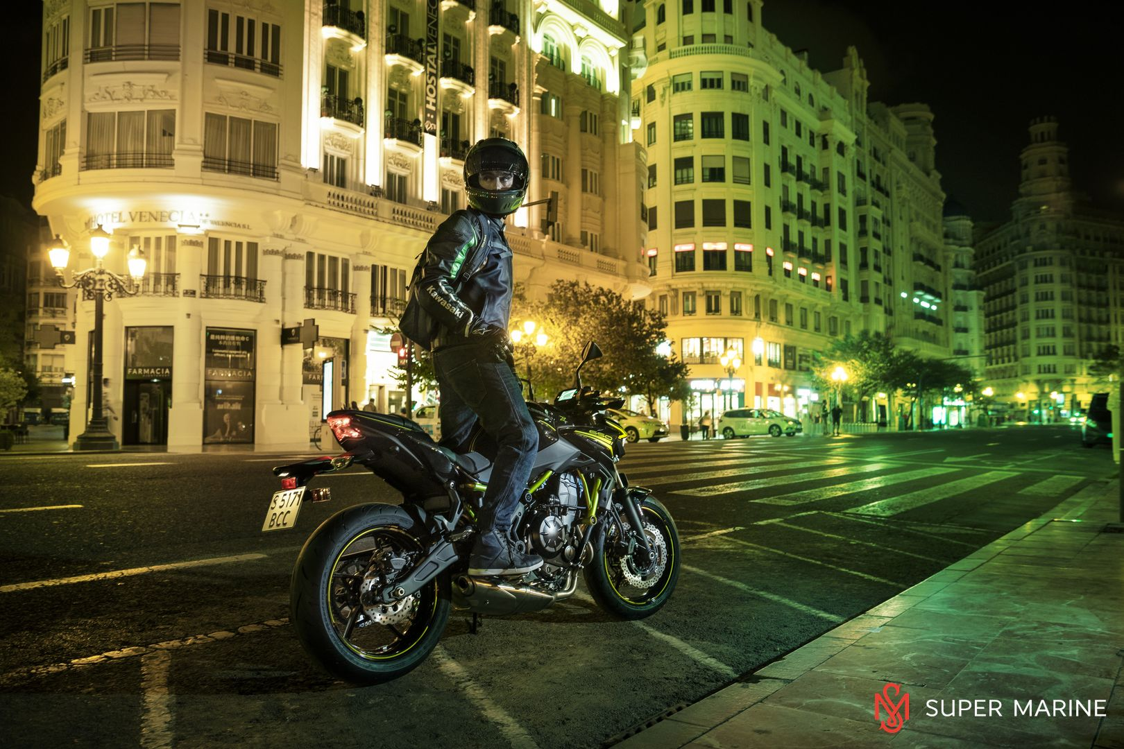 Мотоцикл Kawasaki Z650 ABS Белый 2020 - 9