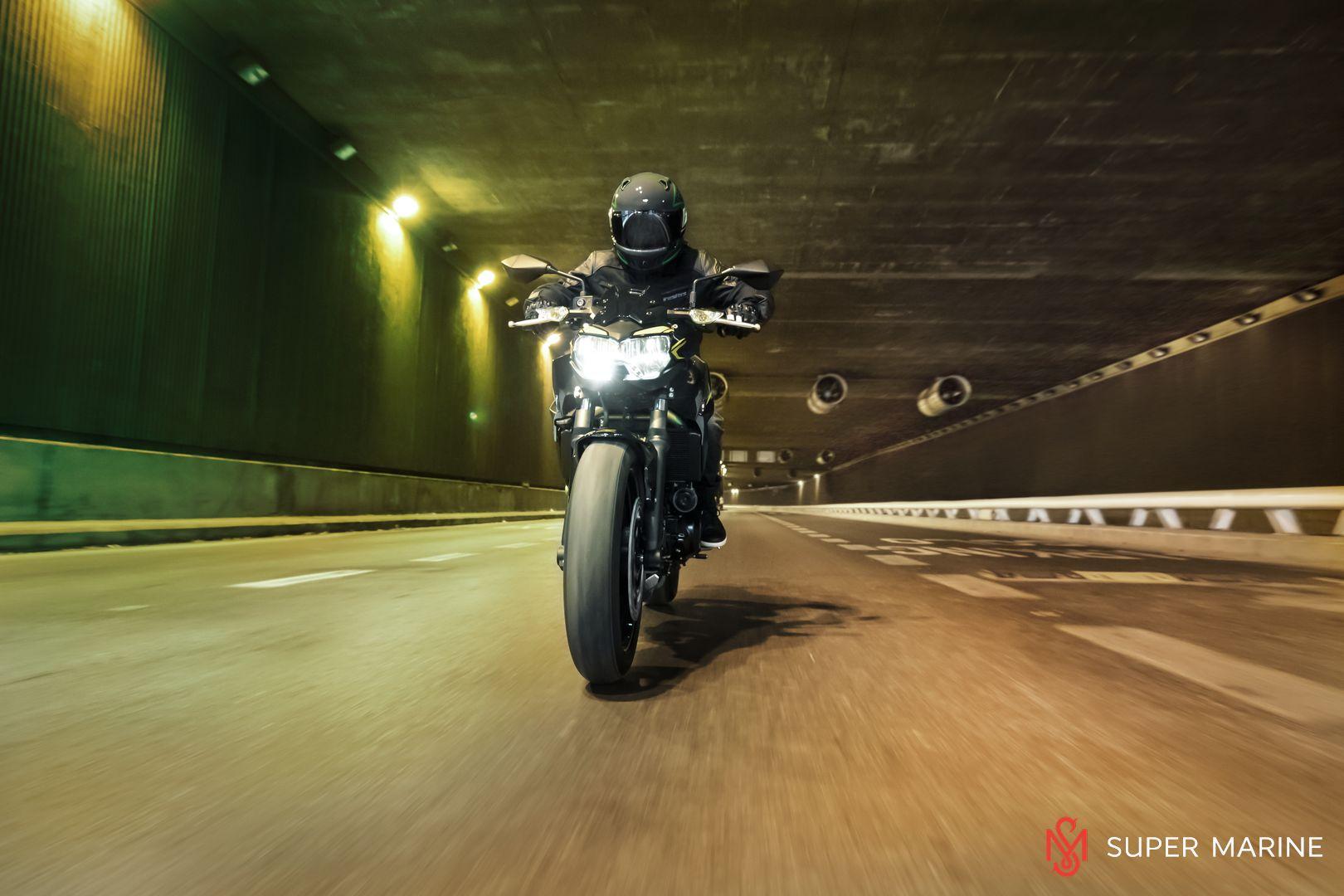 Мотоцикл Kawasaki Z650 ABS Белый 2020 - 11