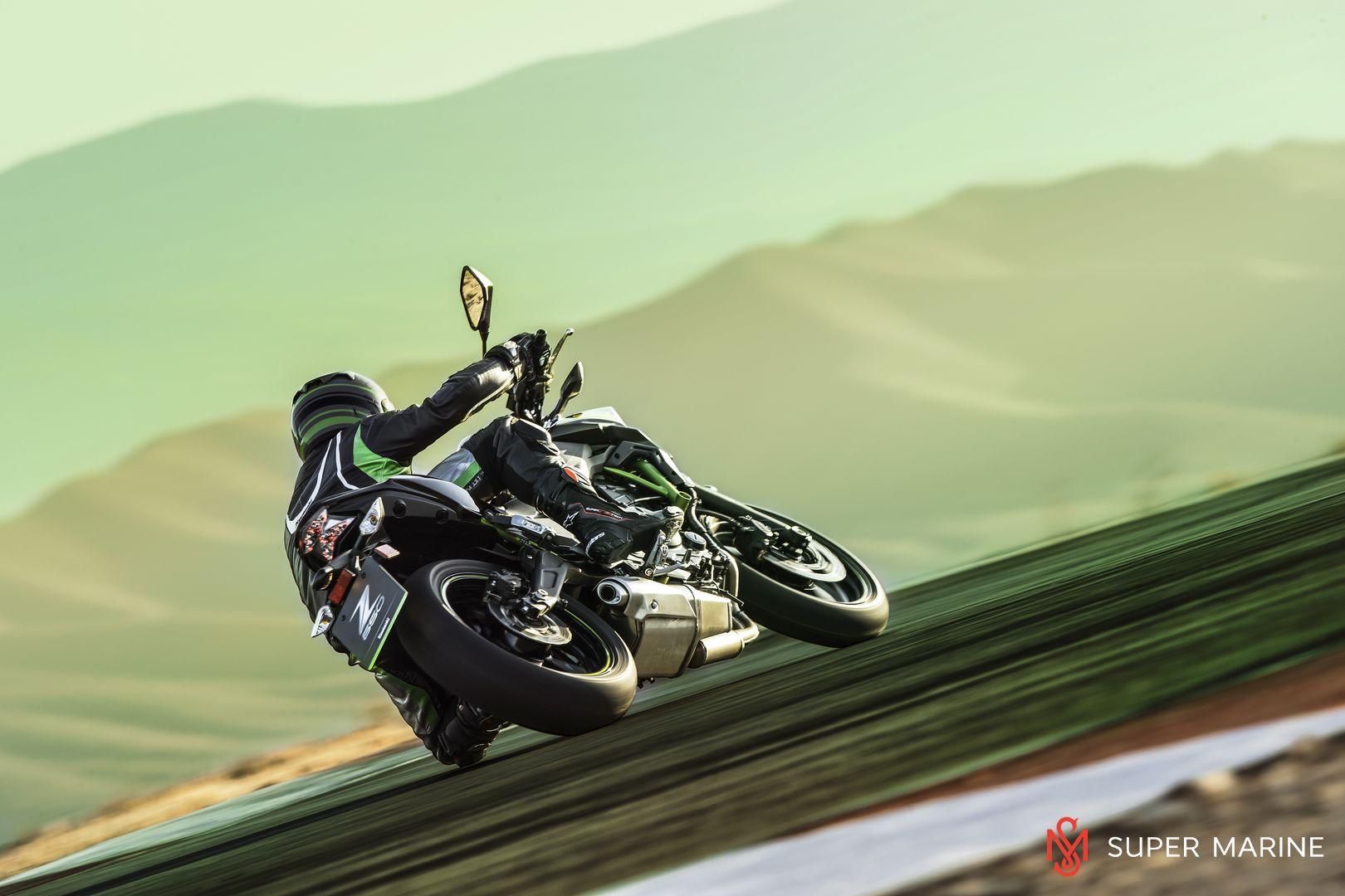Мотоцикл Kawasaki Z650 ABS Белый 2020 - 13