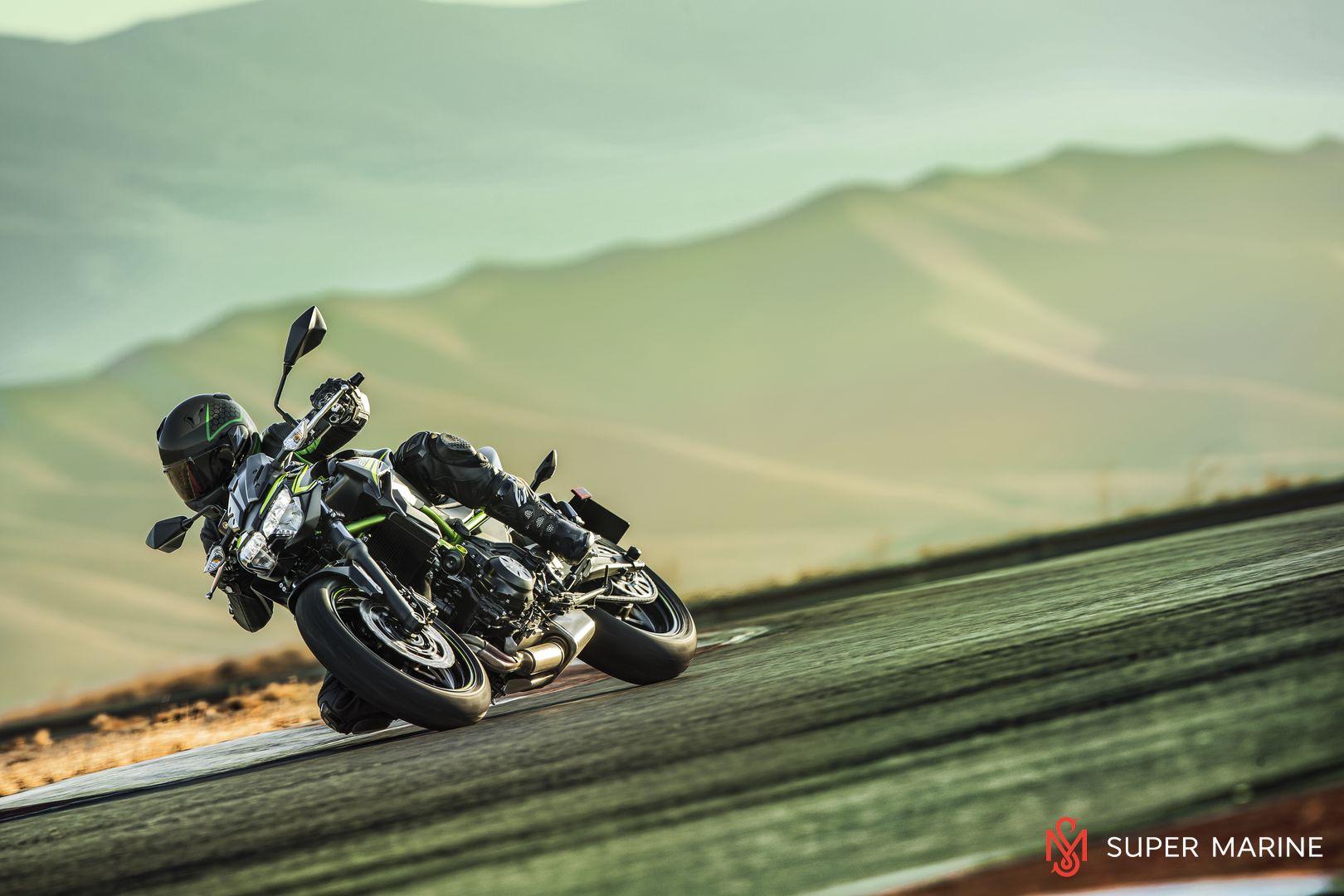 Мотоцикл Kawasaki Z650 ABS Белый 2020 - 14
