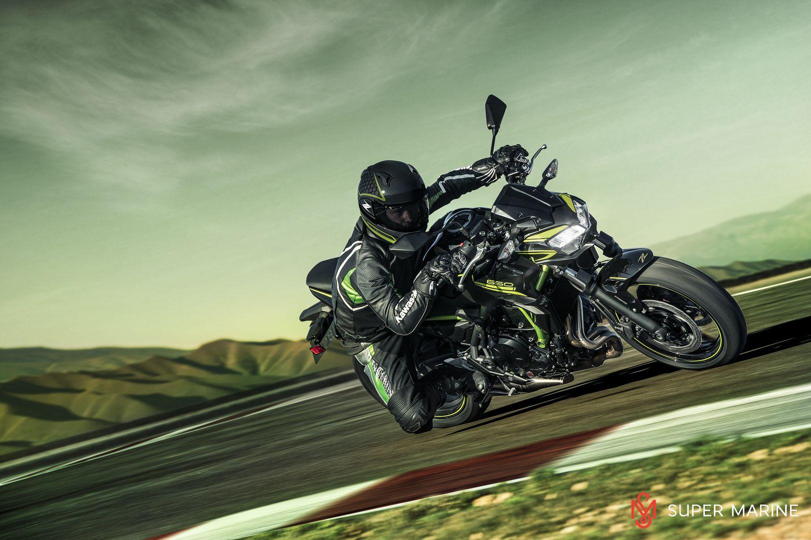 Мотоцикл Kawasaki Z650 ABS Белый 2020 - 15