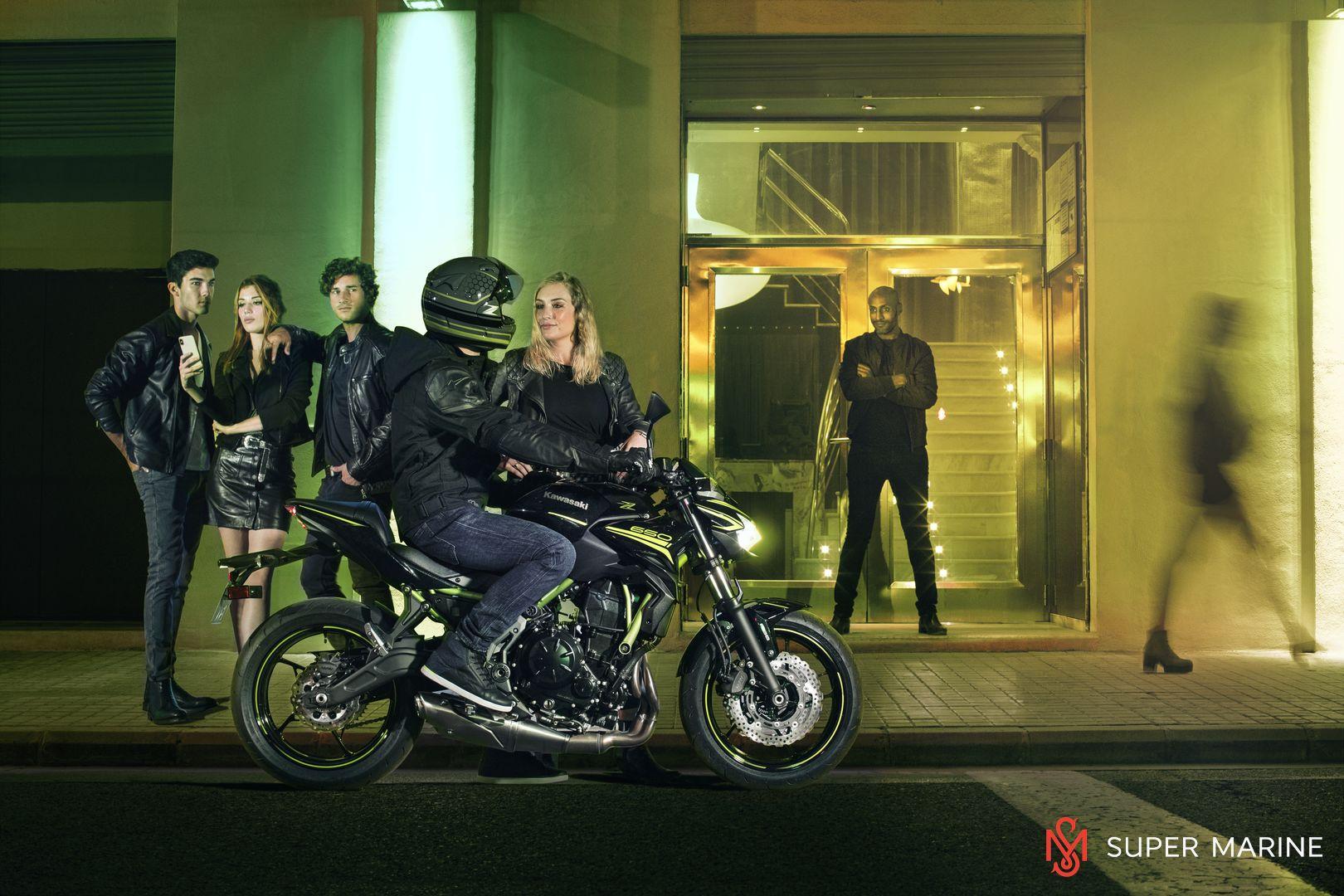 Мотоцикл Kawasaki Z650 ABS Белый 2020 - 17