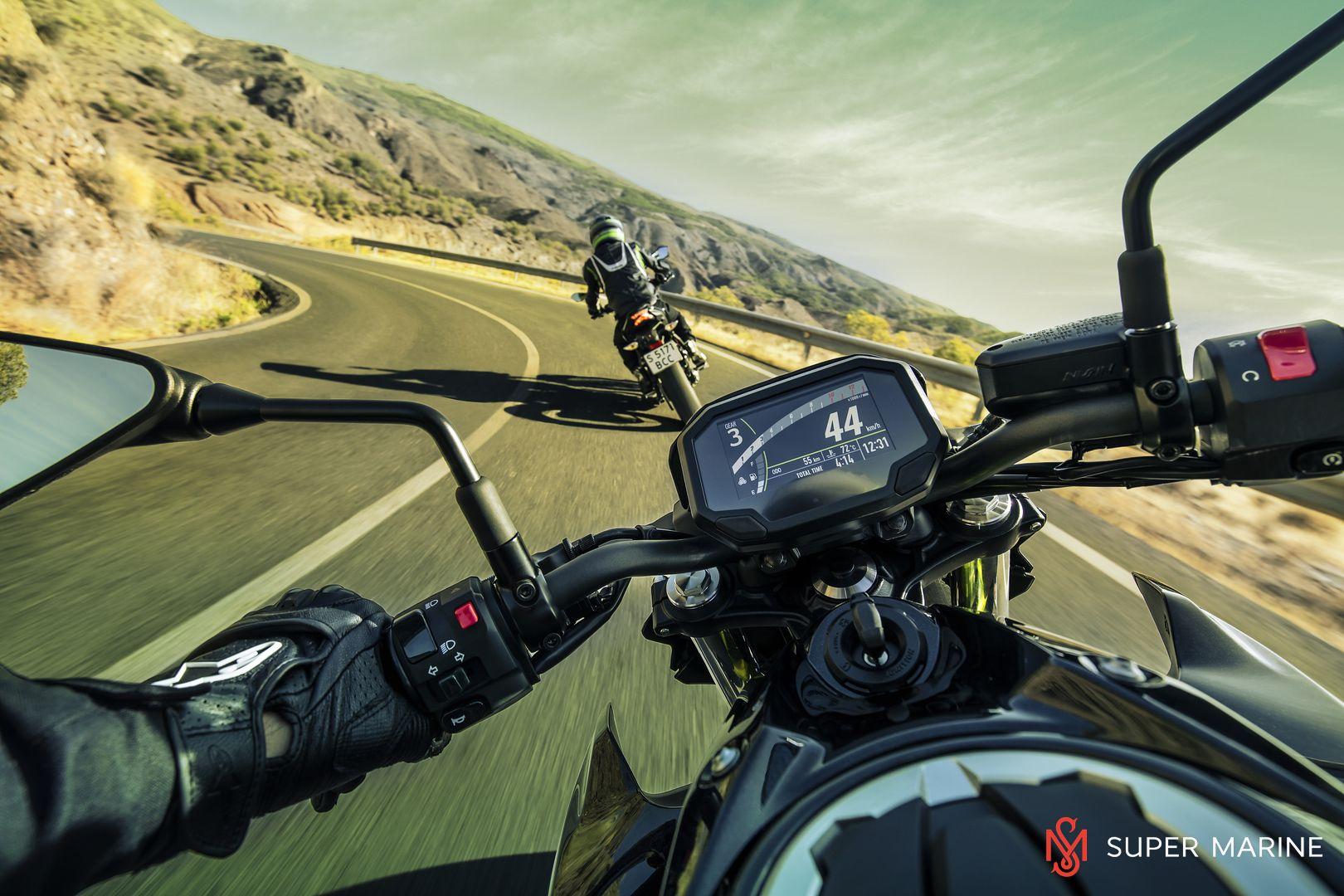 Мотоцикл Kawasaki Z650 ABS Белый 2020 - 24