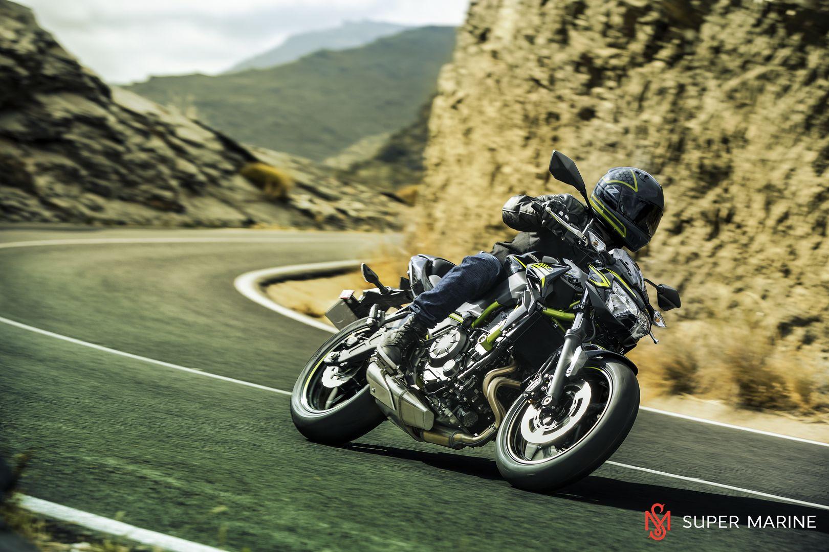 Мотоцикл Kawasaki Z650 ABS Белый 2020 - 19