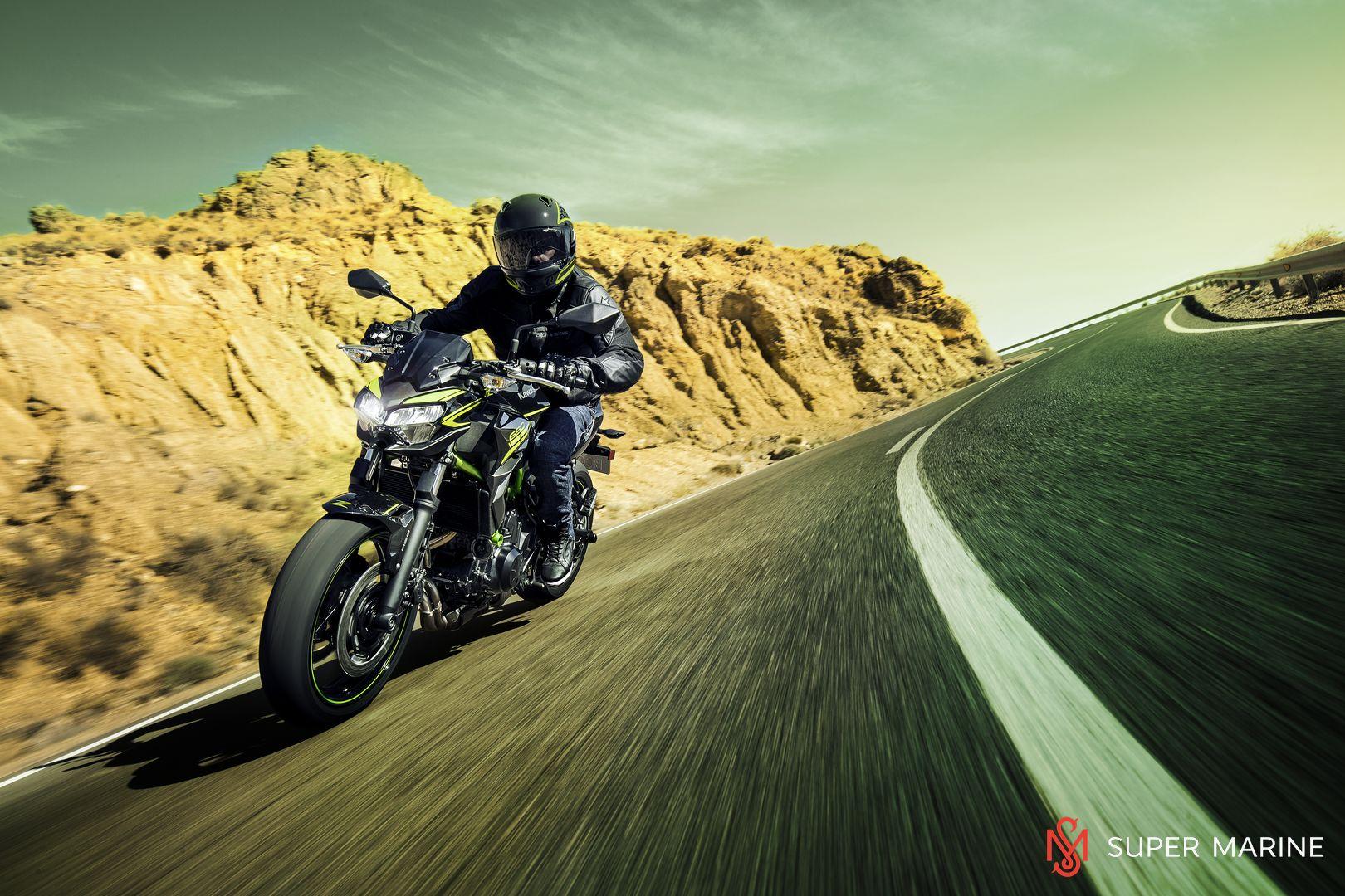 Мотоцикл Kawasaki Z650 ABS Белый 2020 - 21