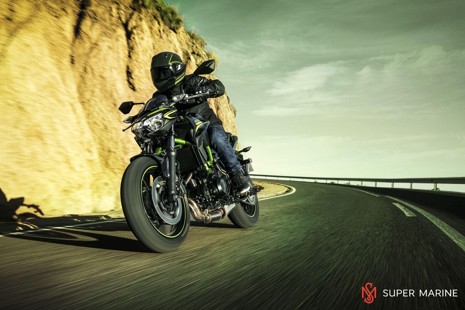 Мотоцикл Kawasaki Z650 ABS Белый 2020 - 22