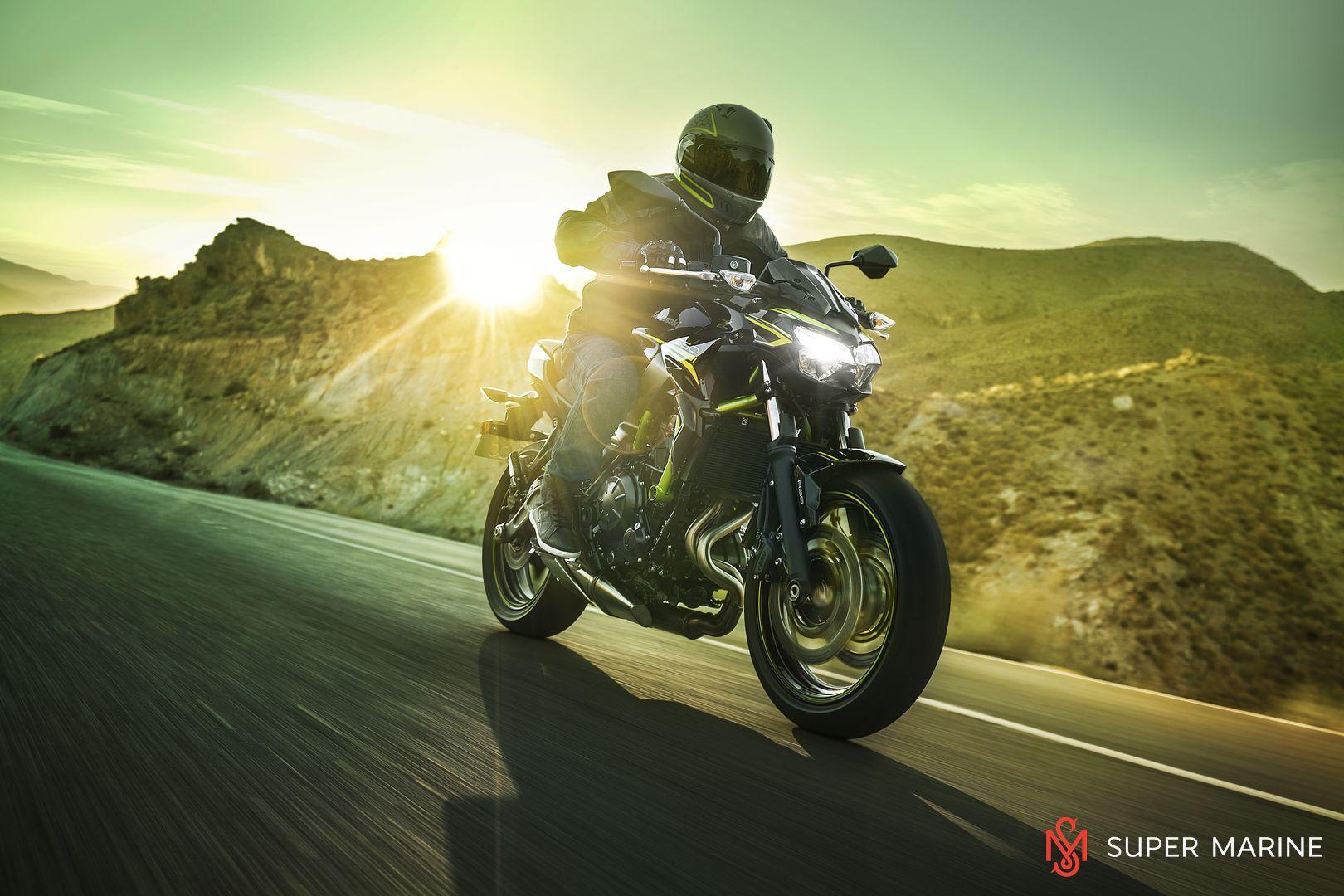 Мотоцикл Kawasaki Z650 ABS Белый 2020 - 23