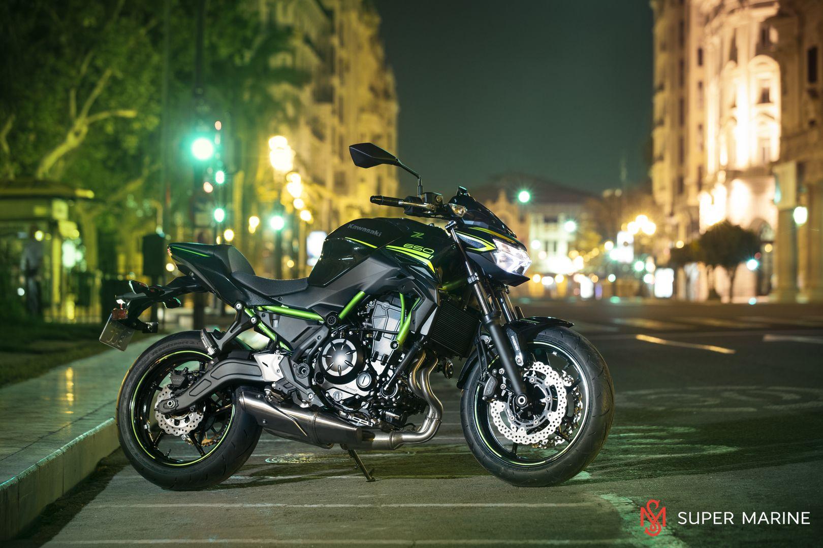 Мотоцикл Kawasaki Z650 ABS Белый 2020 - 26