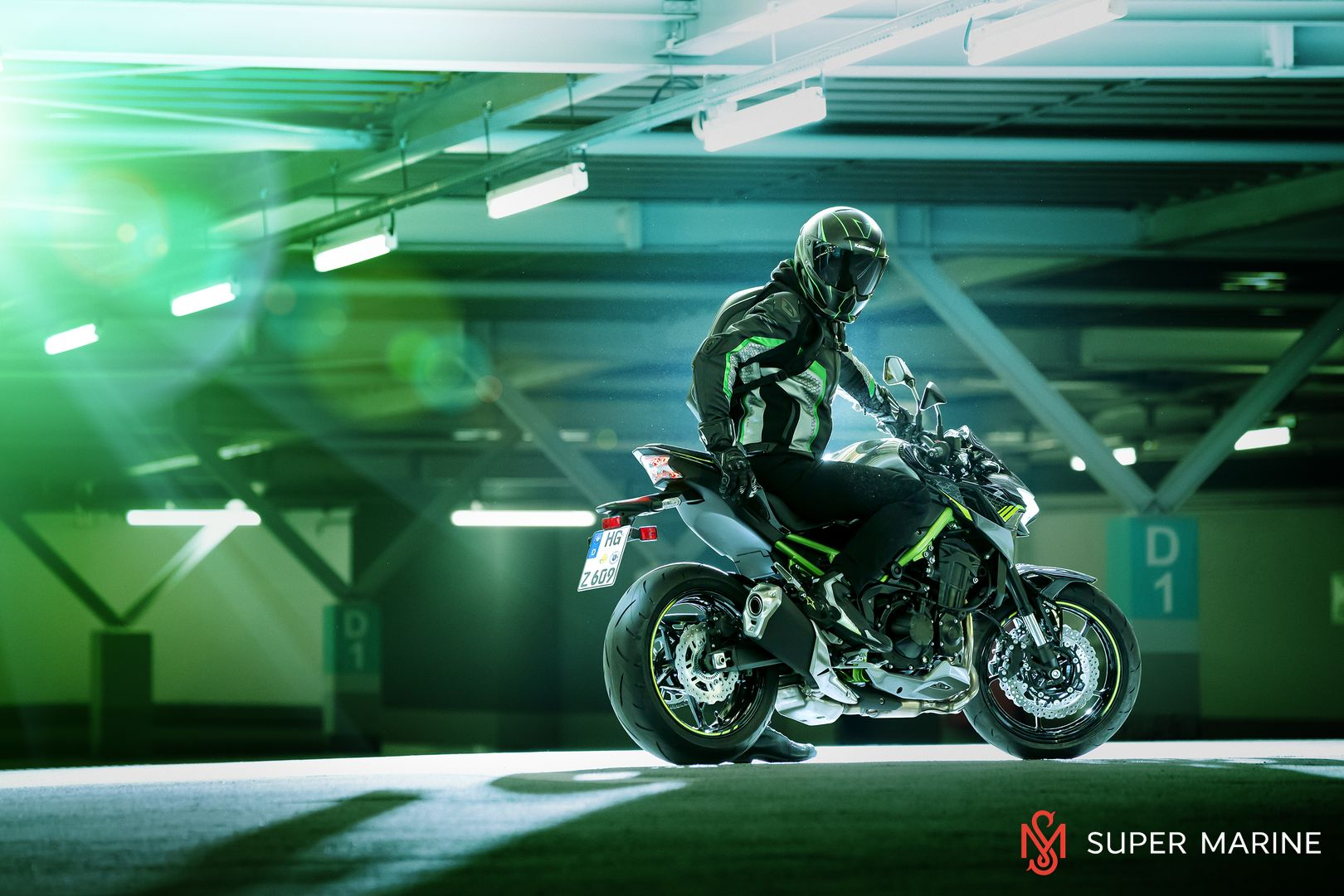 Мотоцикл Kawasaki Z900 ABS Чёрный 2020 - 17