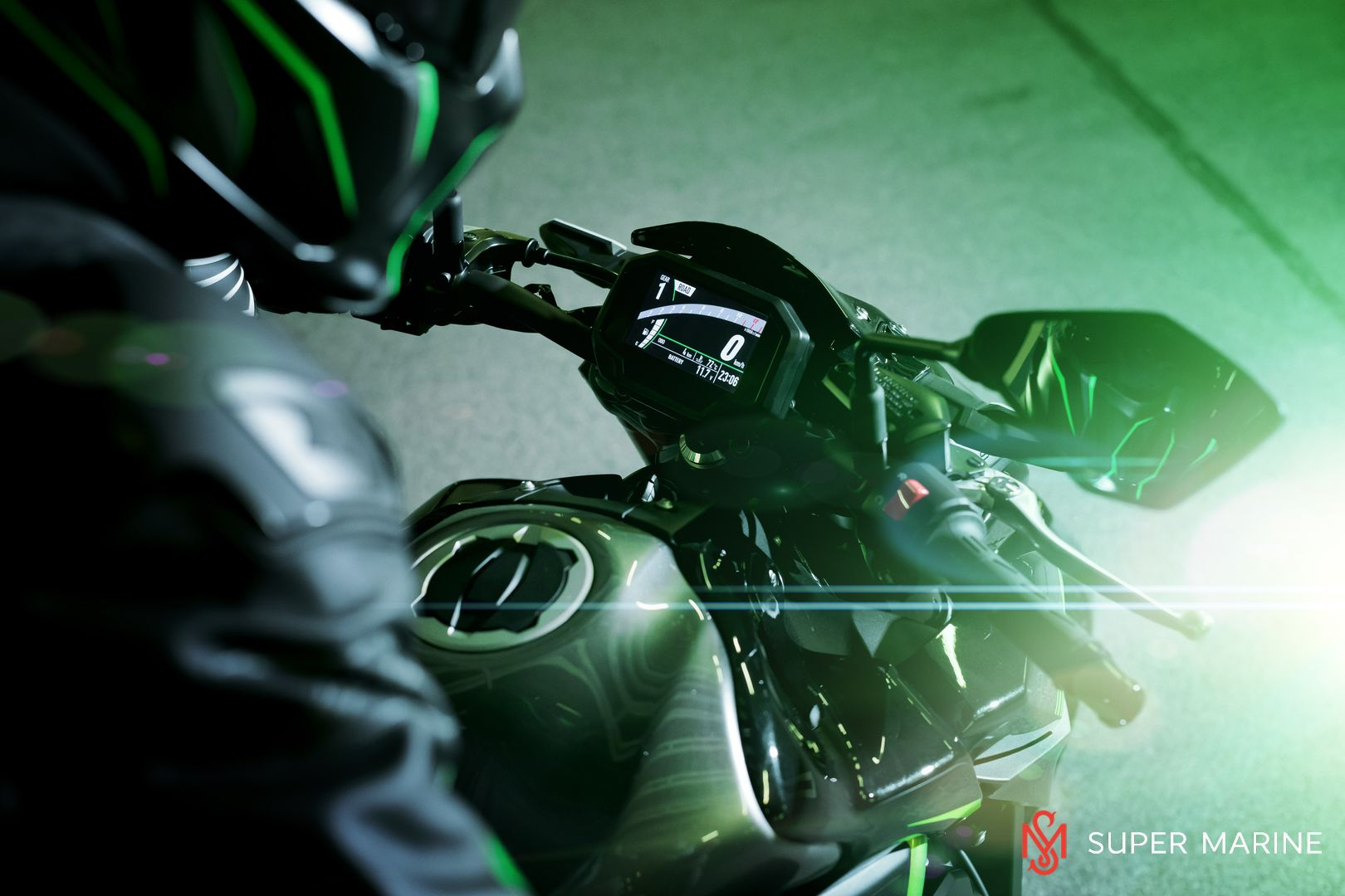 Мотоцикл Kawasaki Z900 ABS Чёрный 2020 - 18