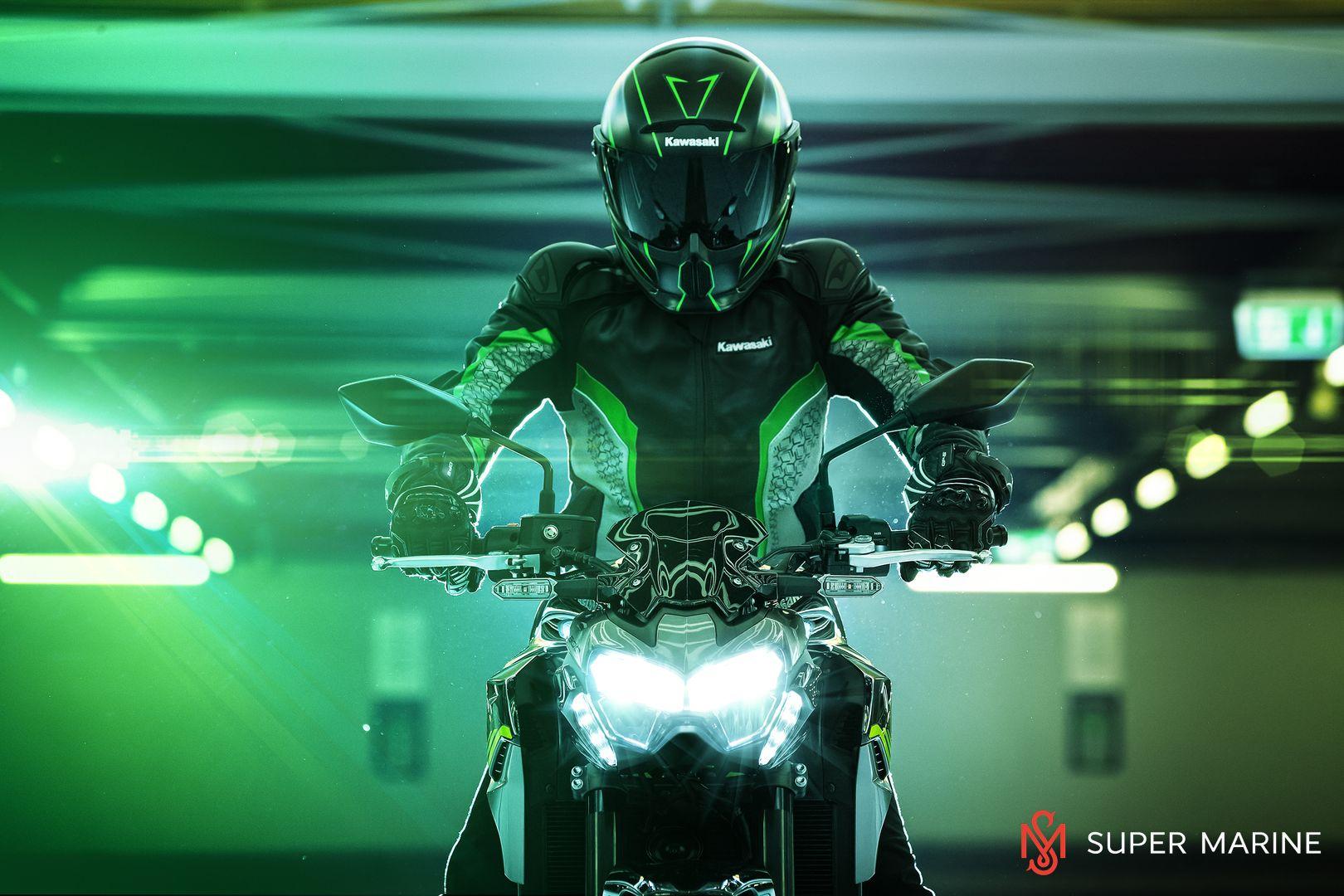 Мотоцикл Kawasaki Z900 ABS Чёрный 2020 - 20