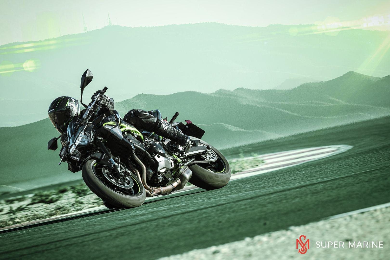 Мотоцикл Kawasaki Z900 ABS Чёрный 2020 - 7