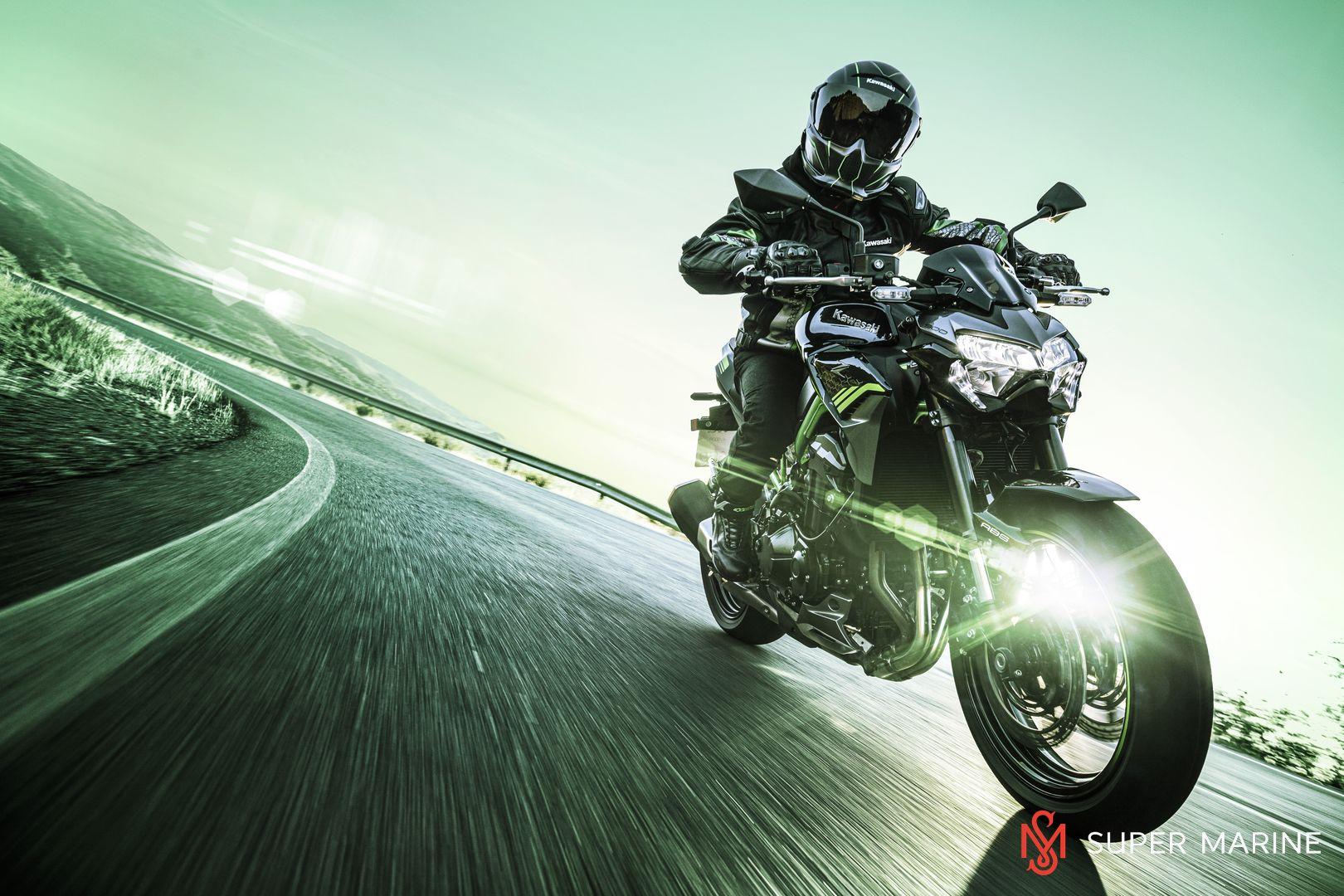 Мотоцикл Kawasaki Z900 ABS Чёрный 2020 - 8