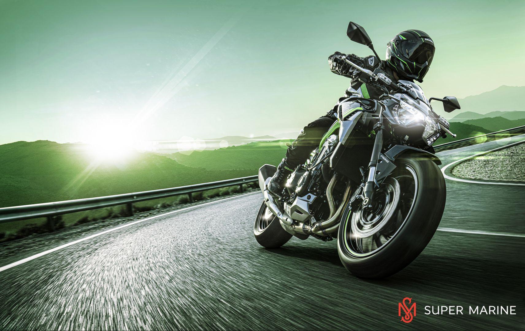 Мотоцикл Kawasaki Z900 ABS Чёрный 2020 - 9