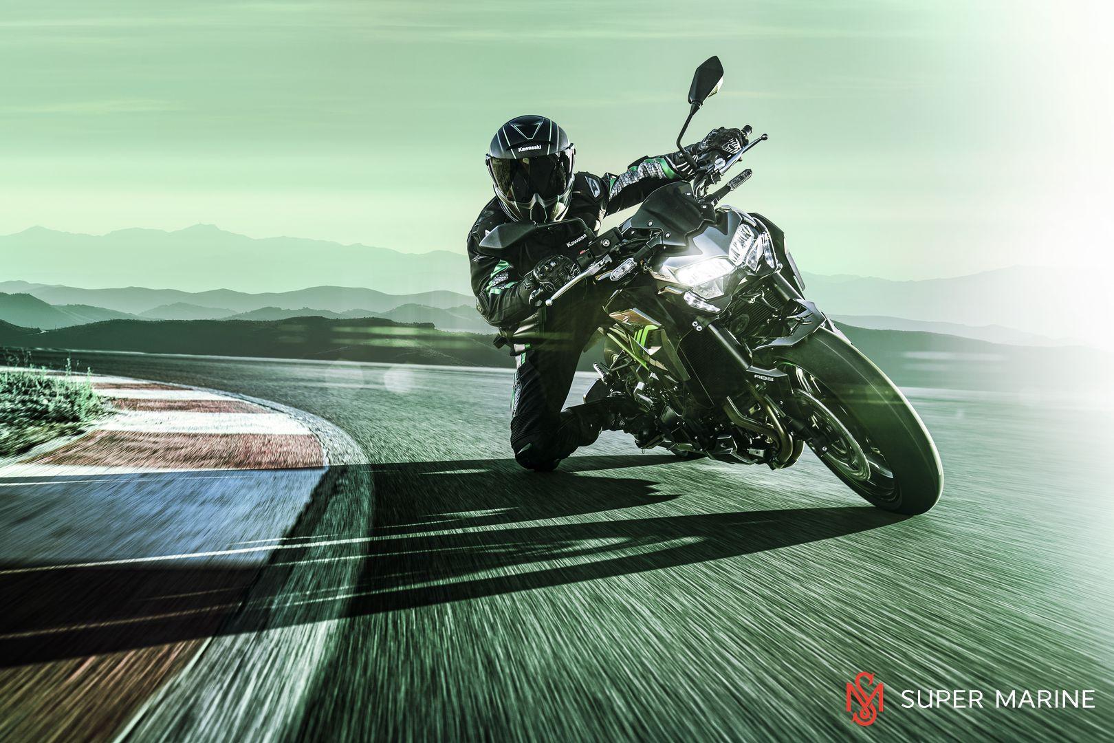Мотоцикл Kawasaki Z900 ABS Чёрный 2020 - 10