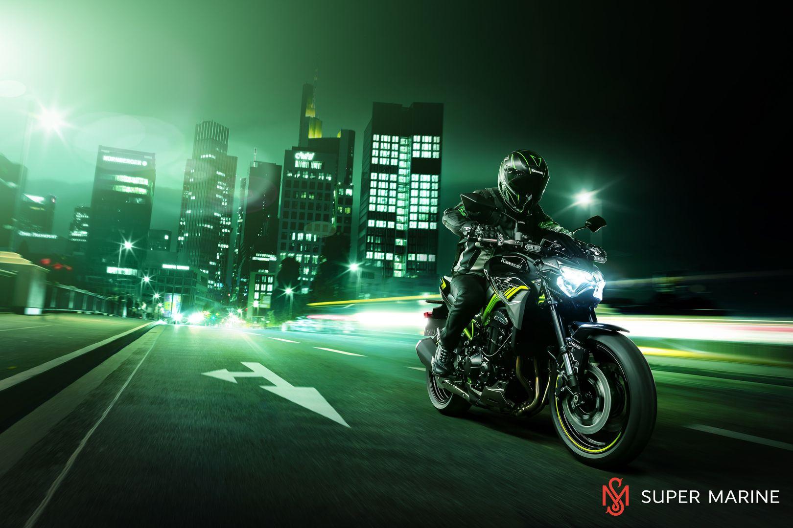 Мотоцикл Kawasaki Z900 ABS Чёрный 2020 - 11