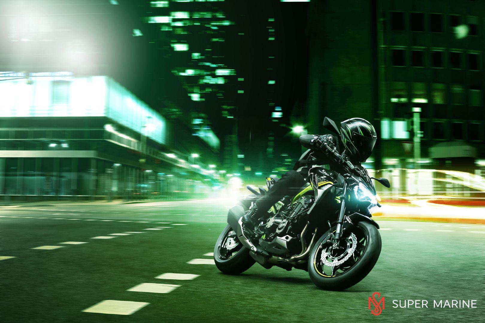 Мотоцикл Kawasaki Z900 ABS Чёрный 2020 - 12