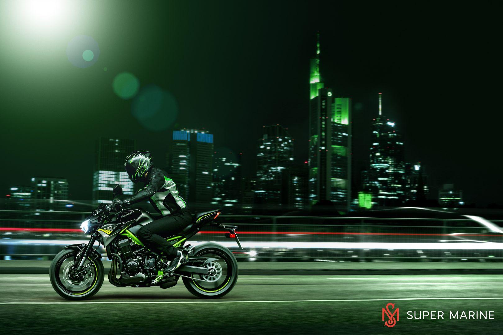 Мотоцикл Kawasaki Z900 ABS Чёрный 2020 - 13