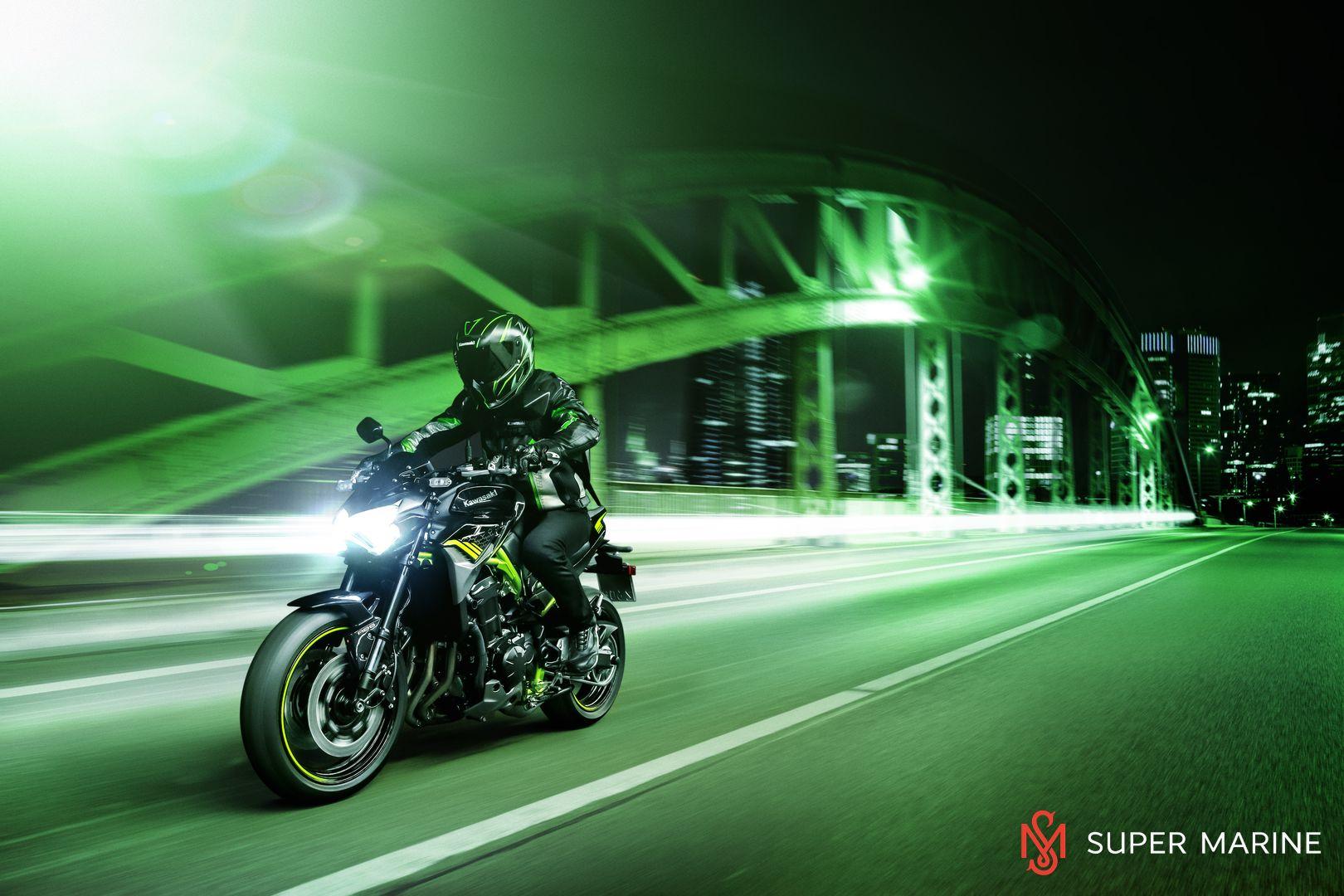 Мотоцикл Kawasaki Z900 ABS Чёрный 2020 - 14